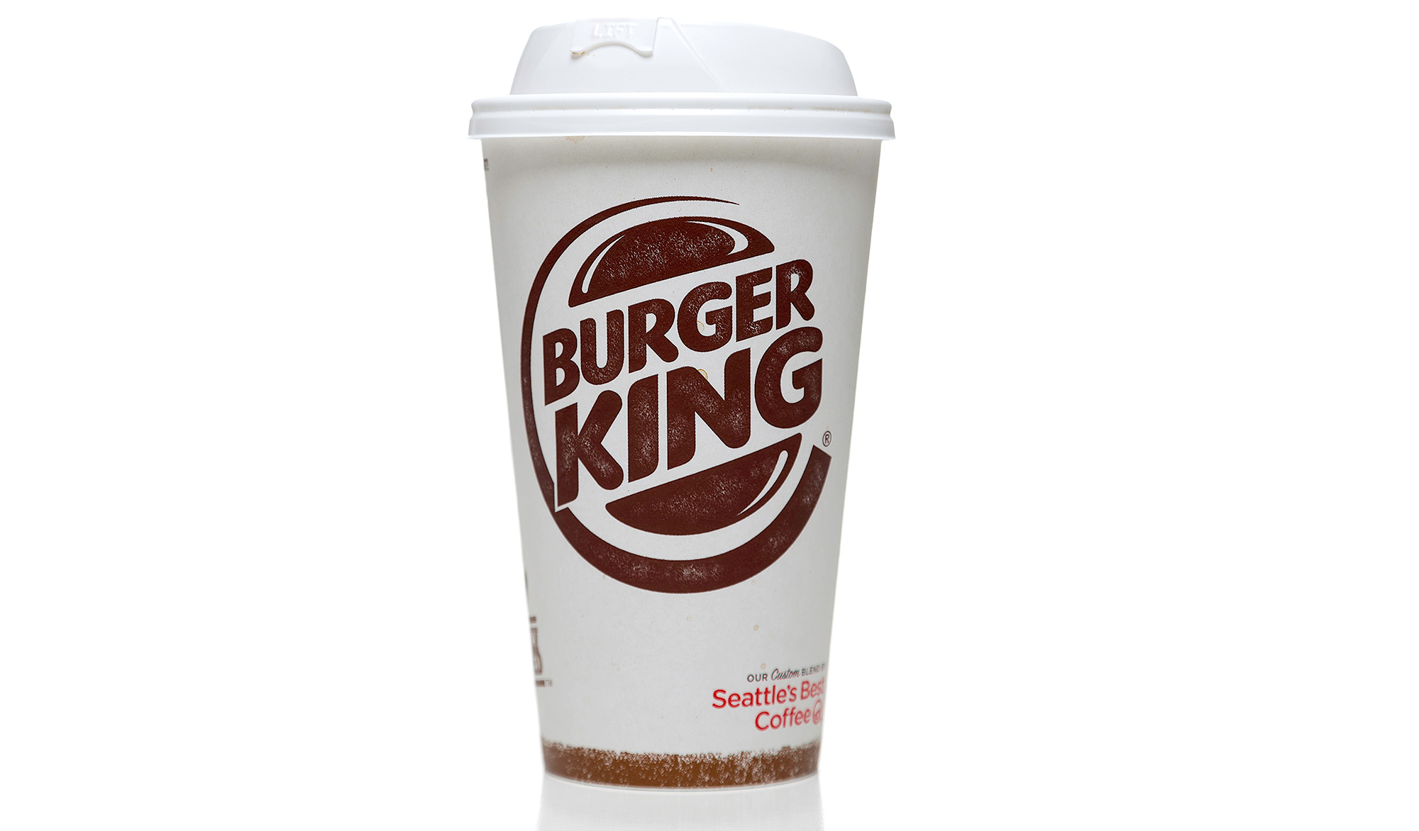 Burger King coffee paper cup