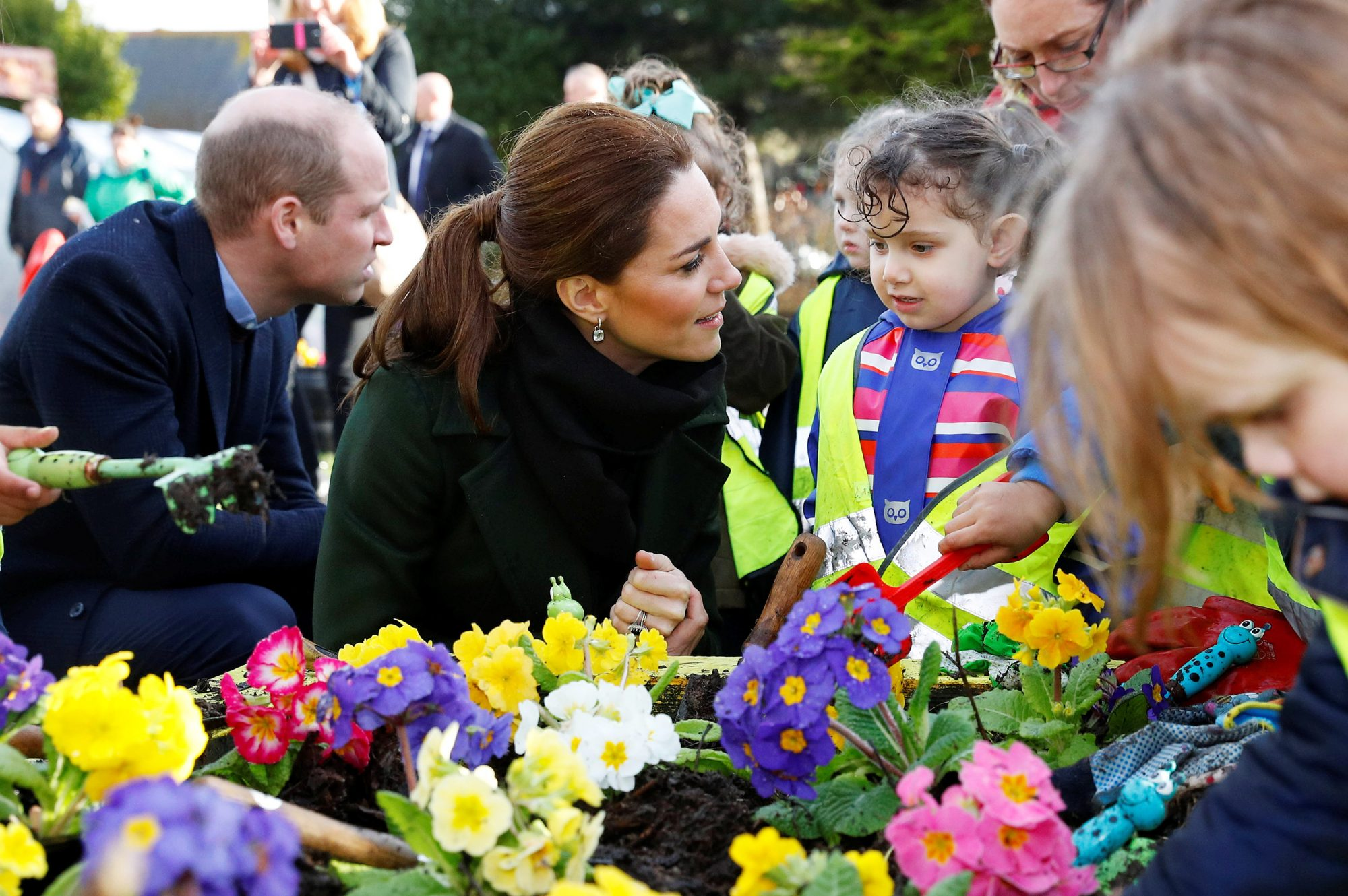 The Duke And Duchess Of Cambridge Visit Blackpool