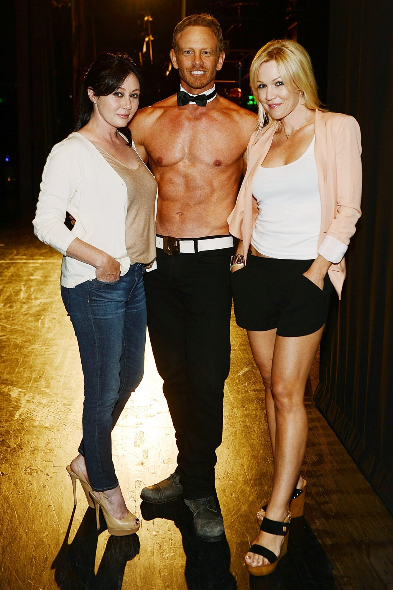 90210 Reunion With Ian, Jennie and Shannen At CHIPPENDALES At Rio All Suite Hotel And Casino