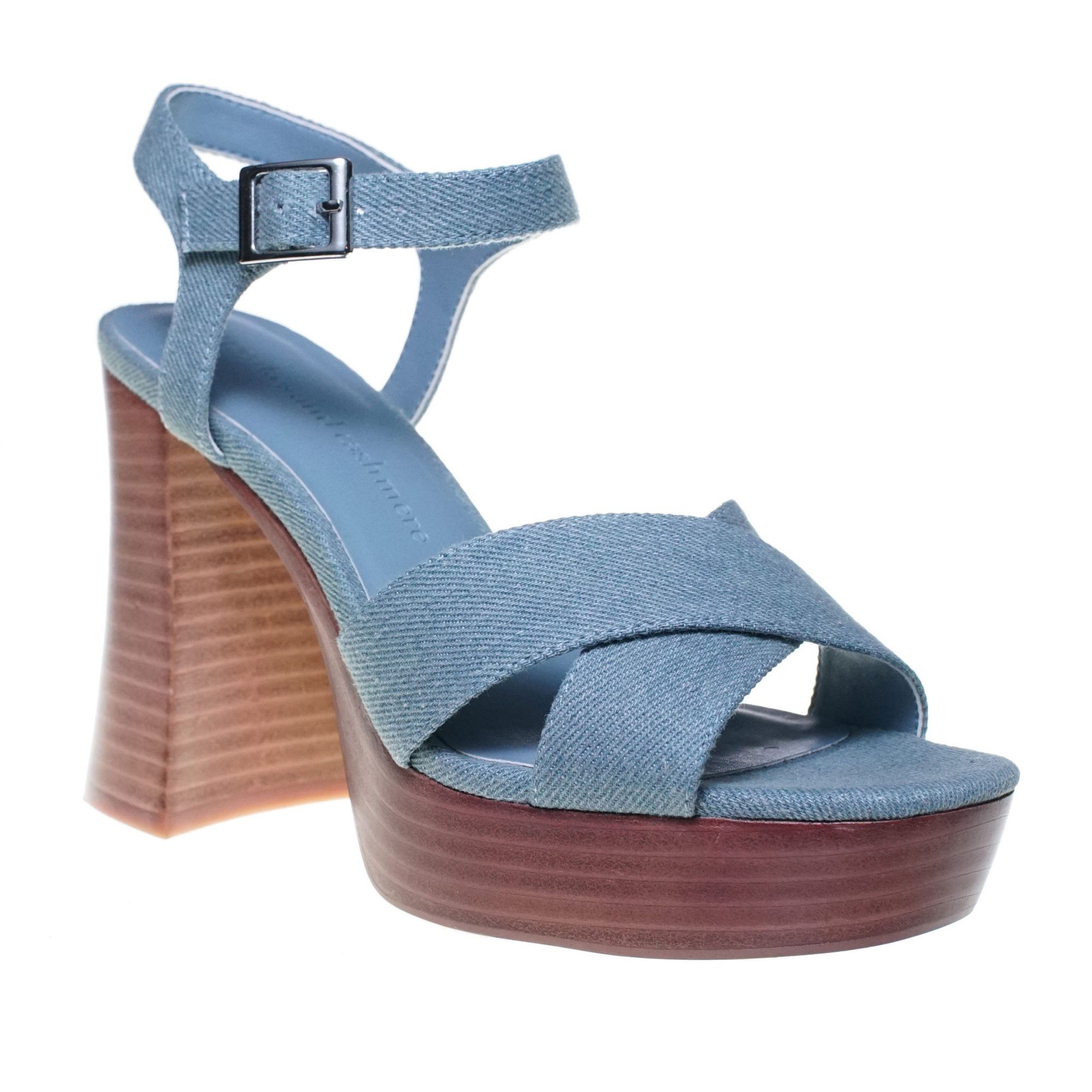 Chambray denim platform sandal from Cupcakes and Cashmere shoe collection at Nordstrom