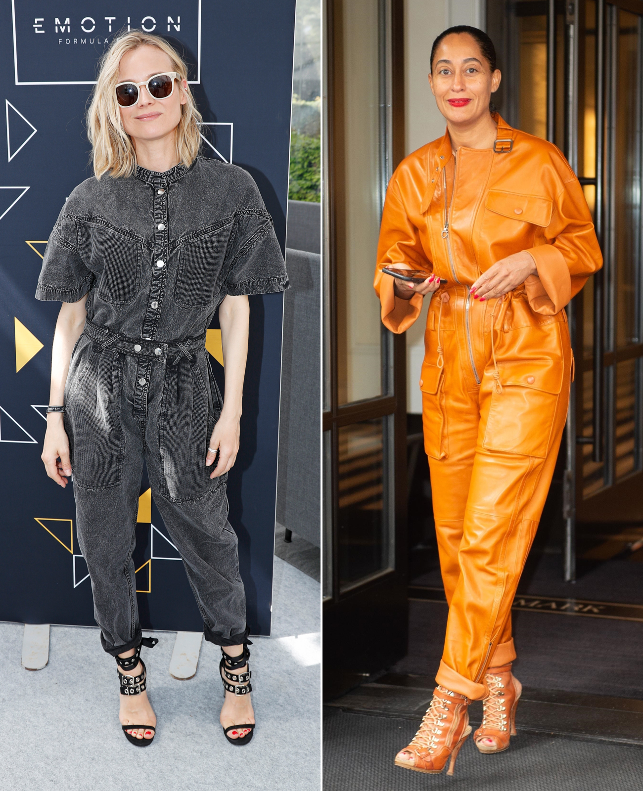 Our Celeb Muses: Diane Kruger in Isabel Marant and Tracee Ellis Ross in Salvatore Ferragamo