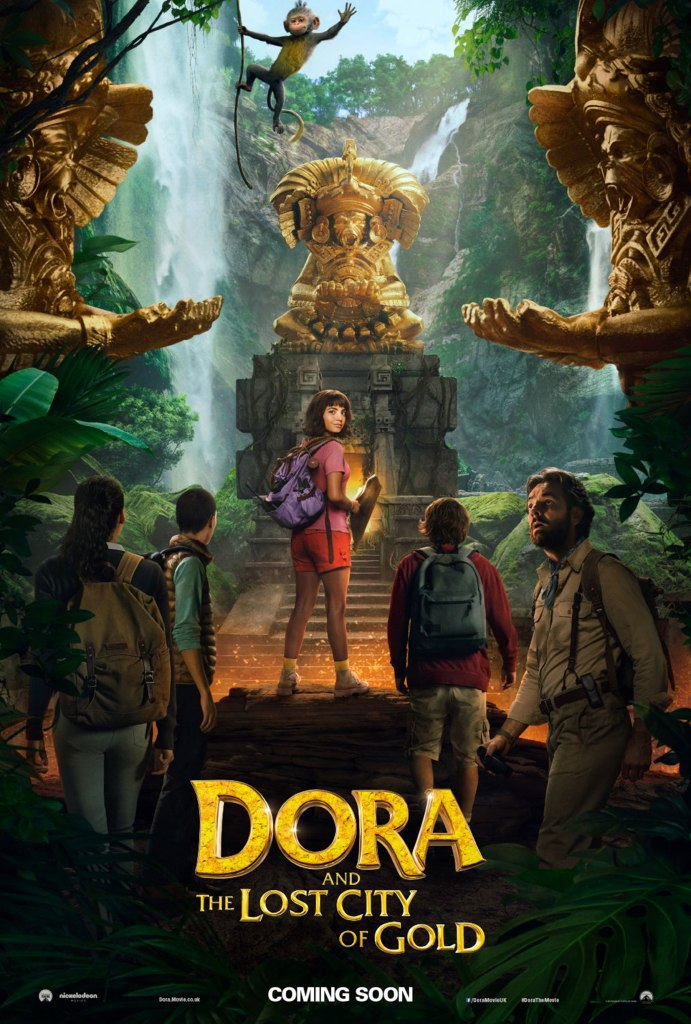 Dora and the Lost City of Gold UK posterCredit: Paramount Players