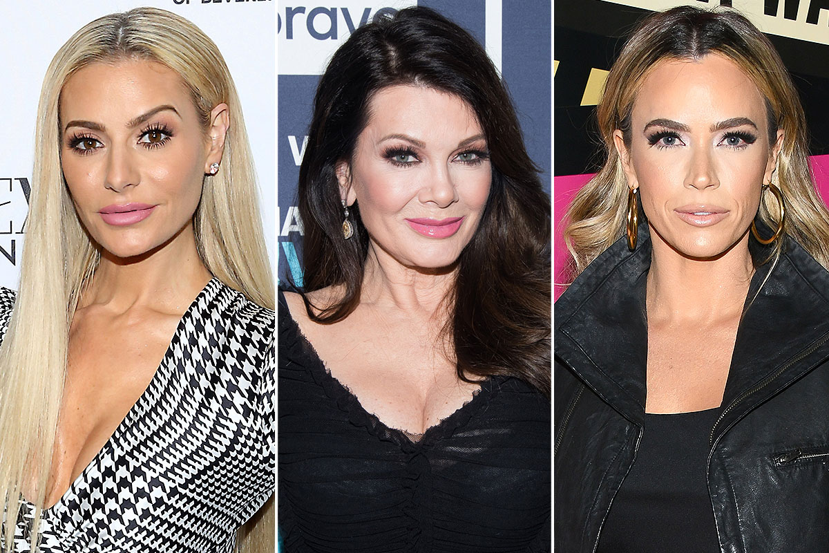 Dorit Kemsley, Lisa Vanderpump, and Teddi Mellencamp split