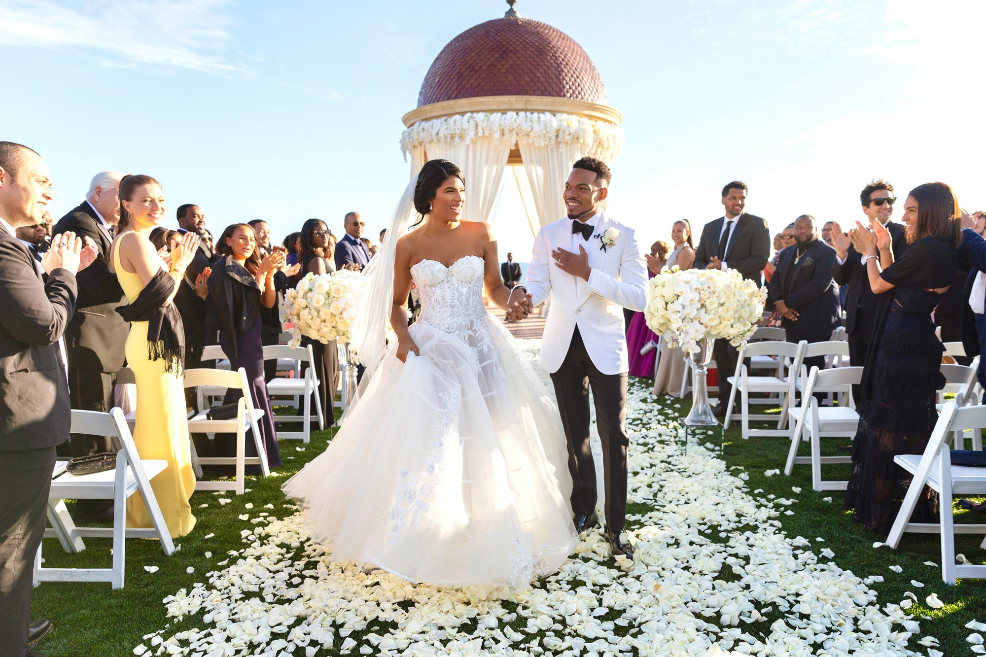 Chance the Rapper and Kirsten Corley Wedding