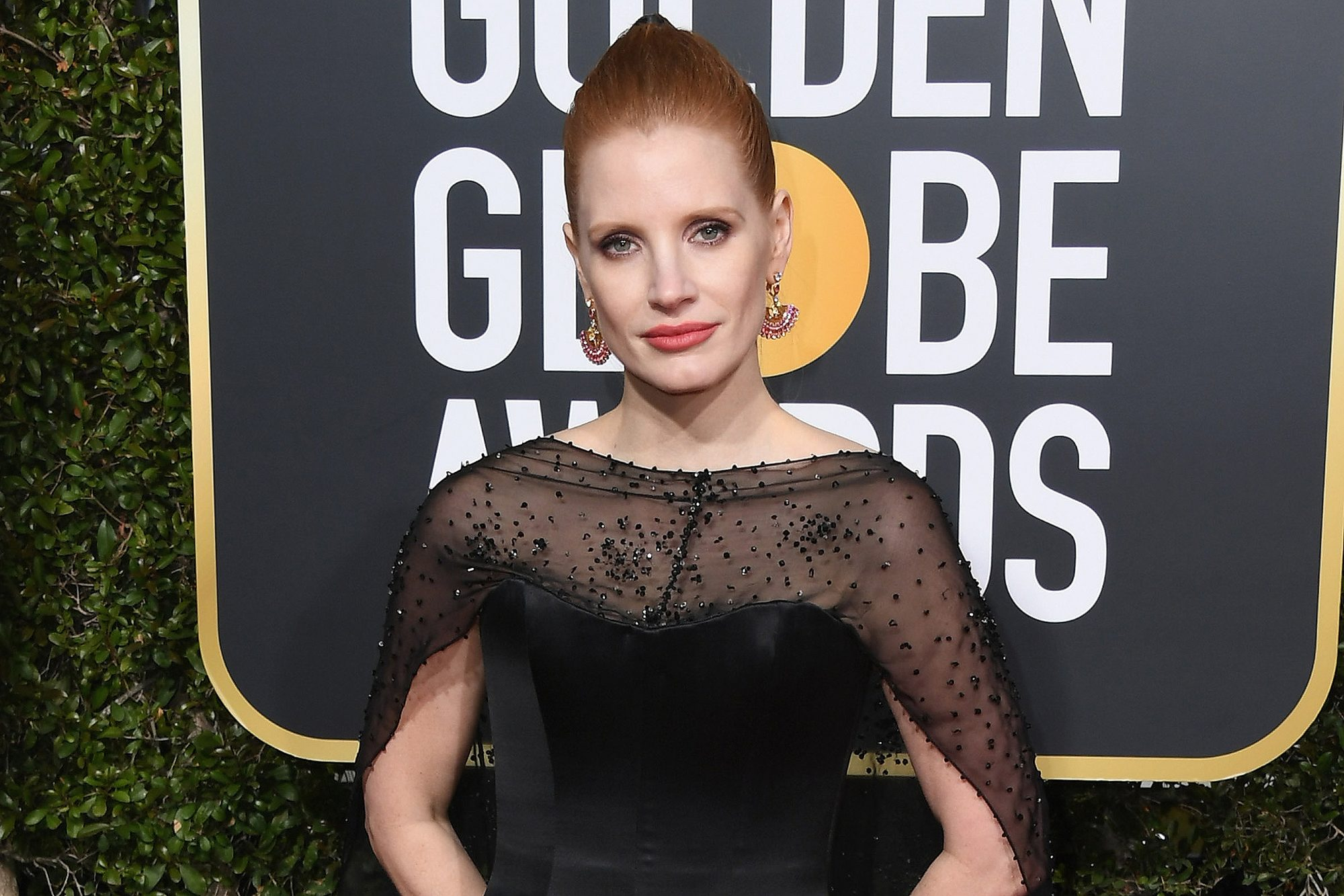Jessica Chastain -76th Annual Golden Globe Awards - Arrivals