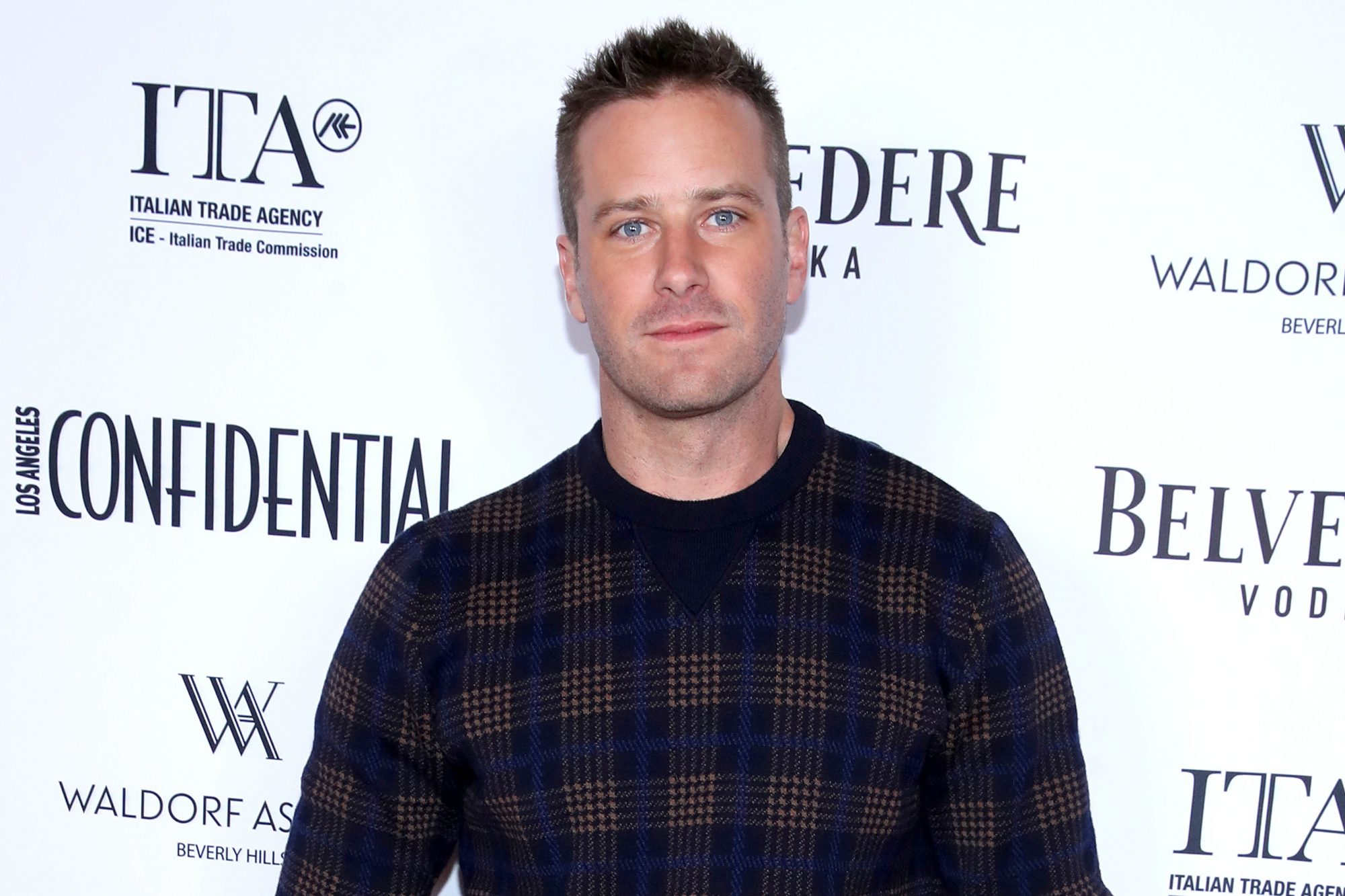 Los Angeles Confidential And Armie Hammer Celebrate The Annual Awards Issue With Belvedere Vodka
