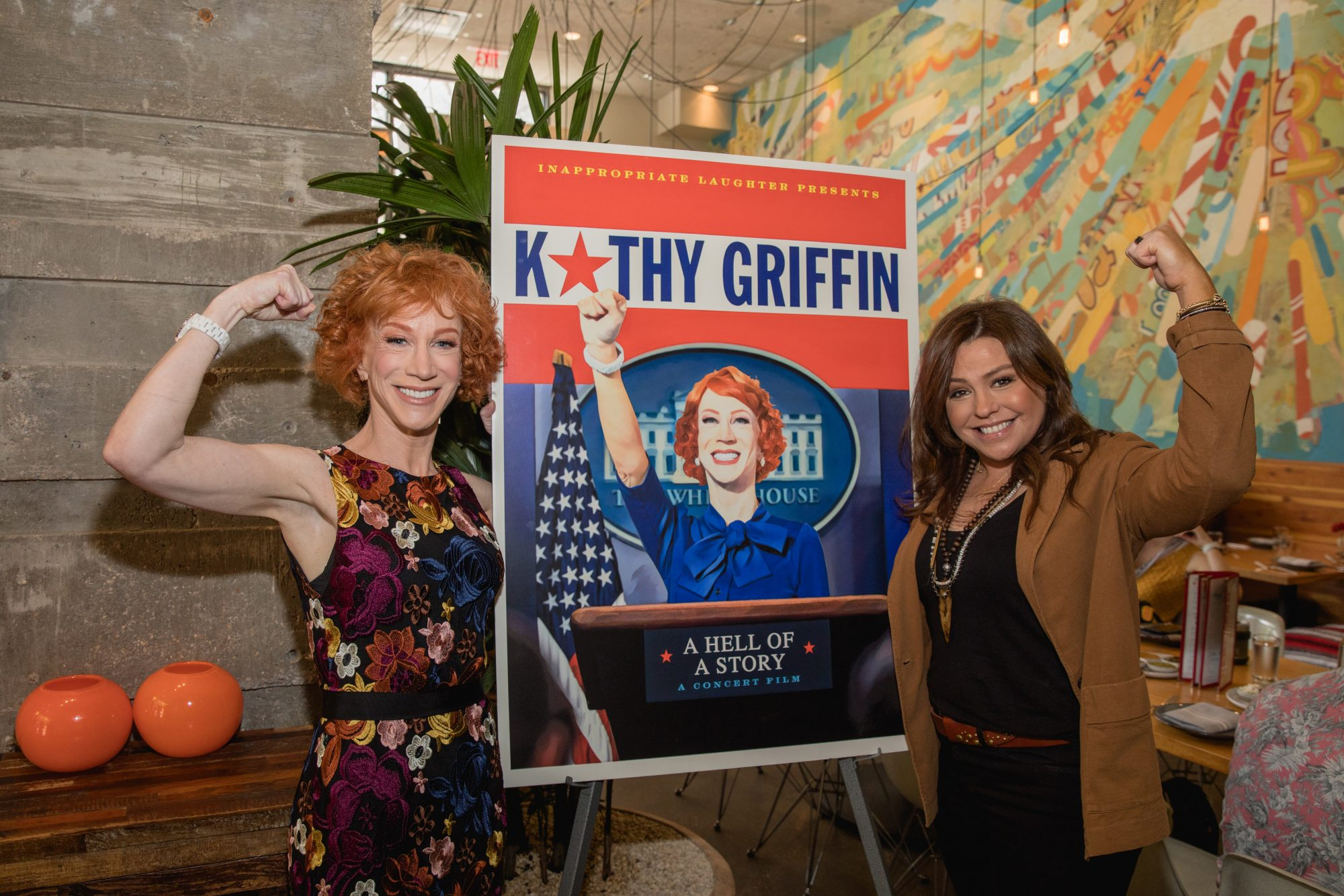 "Rachael Ray x Kathy Griffin x ""A Hell Of A Story"" - SXSW Margarita Brunch"