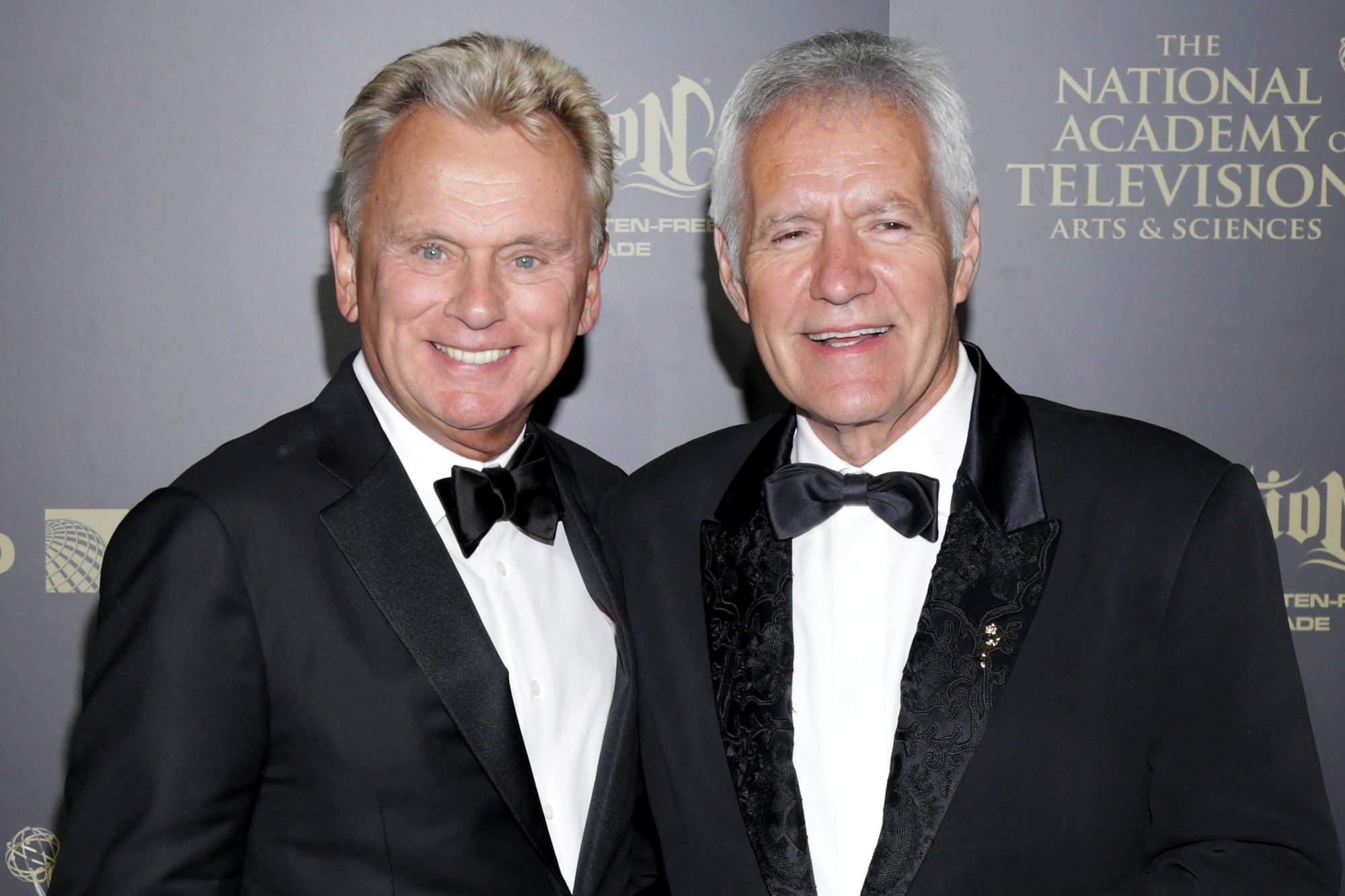Pat Sajak and Alex Trebek - 44th Annual Daytime Creative Arts Emmy Awards - Press Room