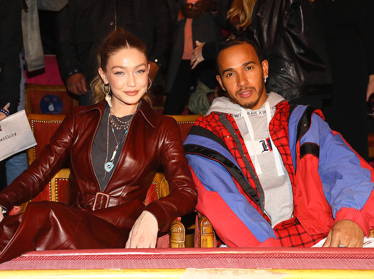 Tommy Hilfiger TOMMYNOW Spring 2019  : TommyXZendaya Premieres : Front Row At The Theatre Des Champs Elysees In Paris