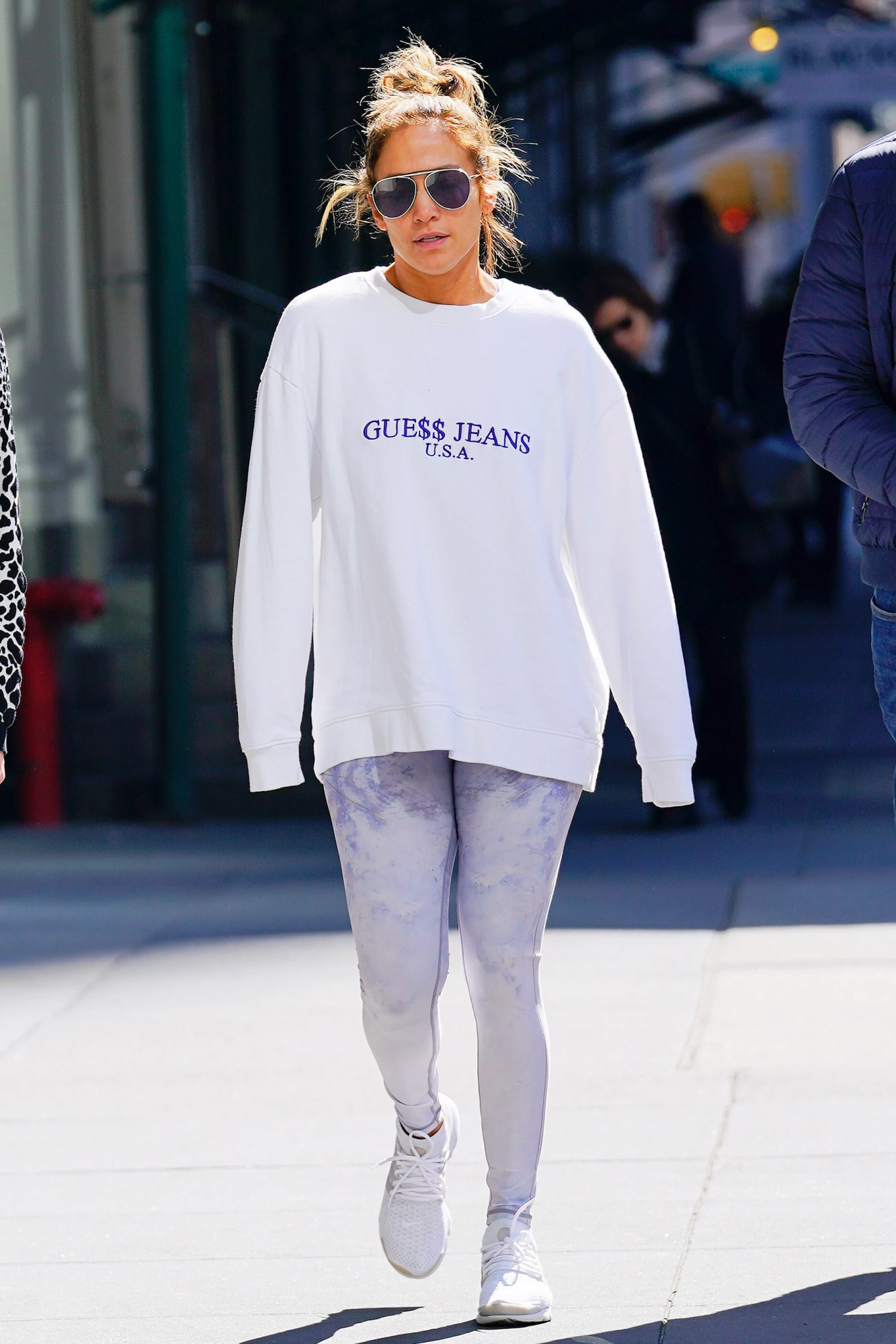 Celebrity Sightings In New York City - March 20, 2019