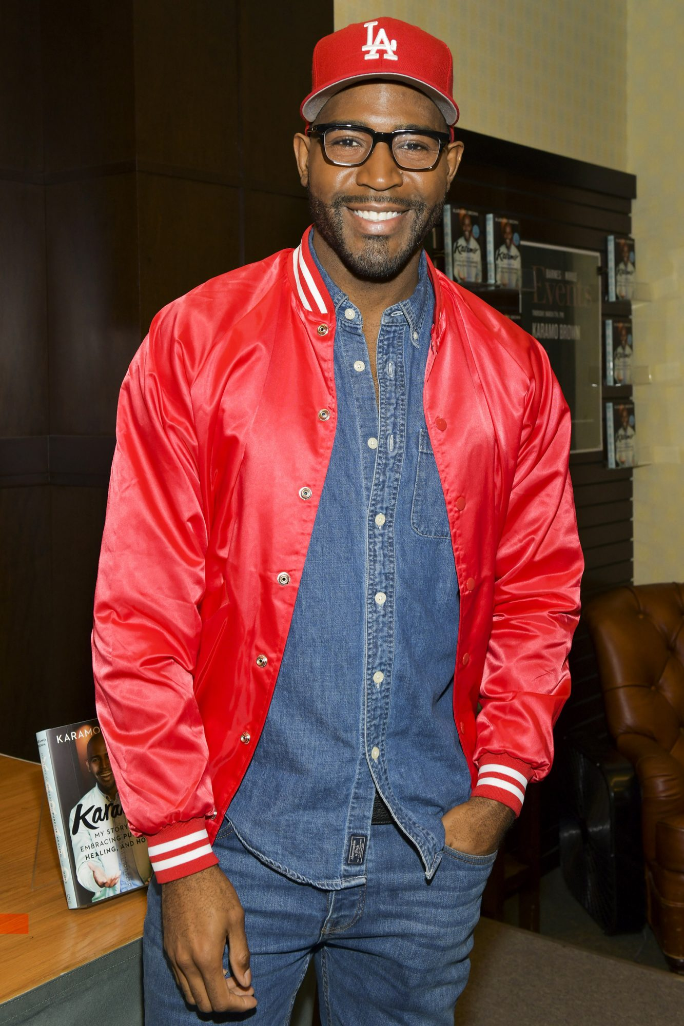 "Netlfix's ""Queer Eye"" Karamo Brown Celebrates His New Book ""Karamo: My Story"""