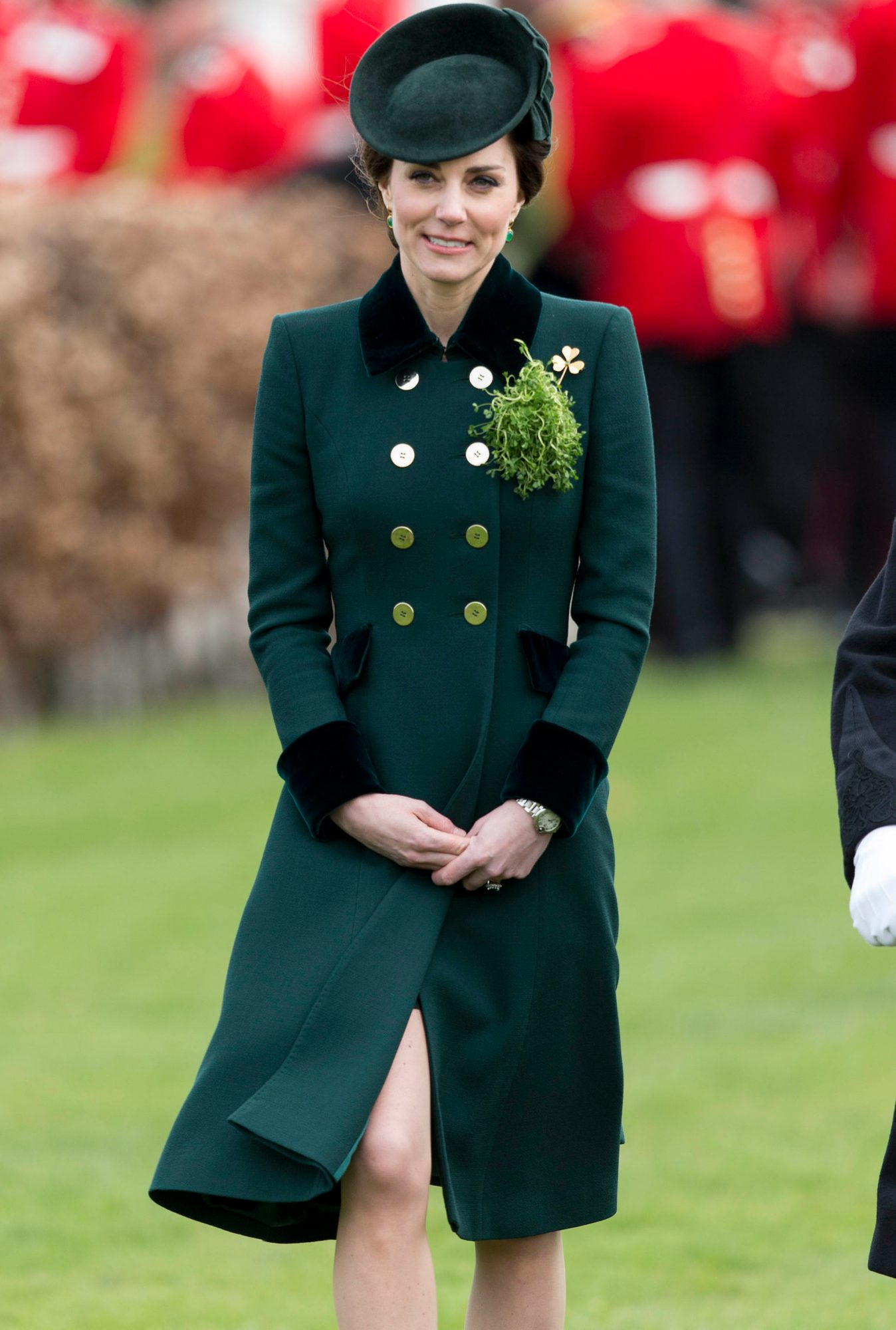 William and Kate  - Irish Guards St. Patrick's Day Parade