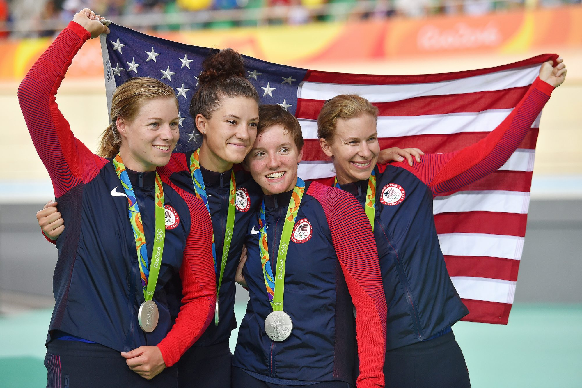 Cycling: 31st Rio 2016 Olympics / Track Cycling: Women's Team Pursuit Finals
