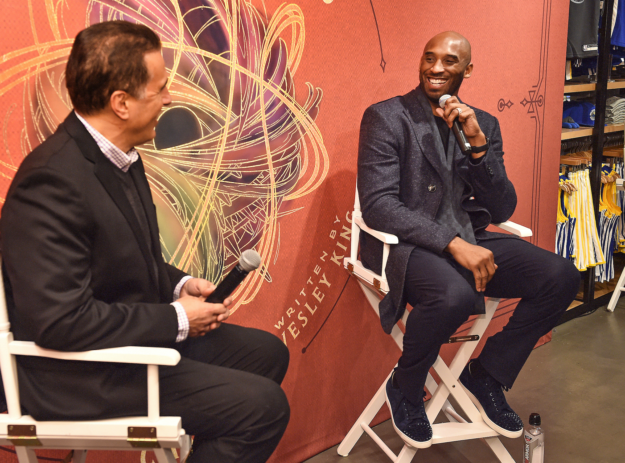 Kobe Bryant Stops by the NBA Store