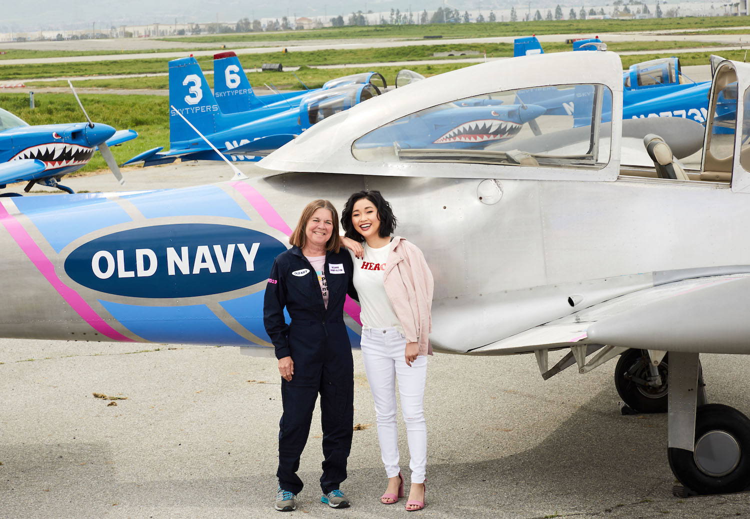 Lana Condor and Suzanne Asbury-Oliver_Old Navy