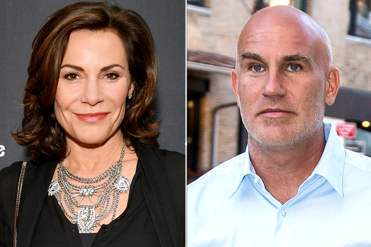 Luann de Lesseps and Dennis Shields split