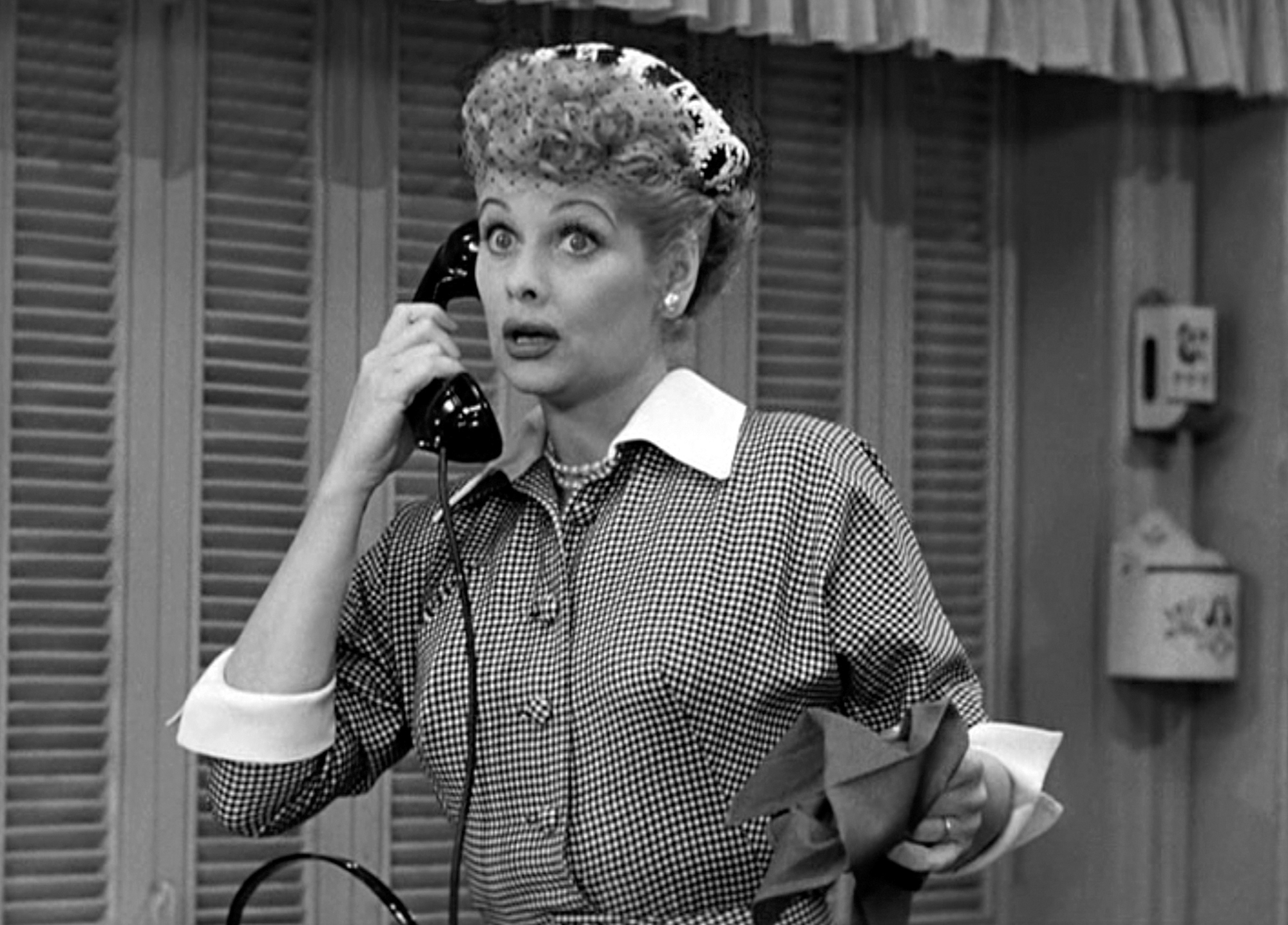"""Lucille Ball In """"I Love Lucy'"""