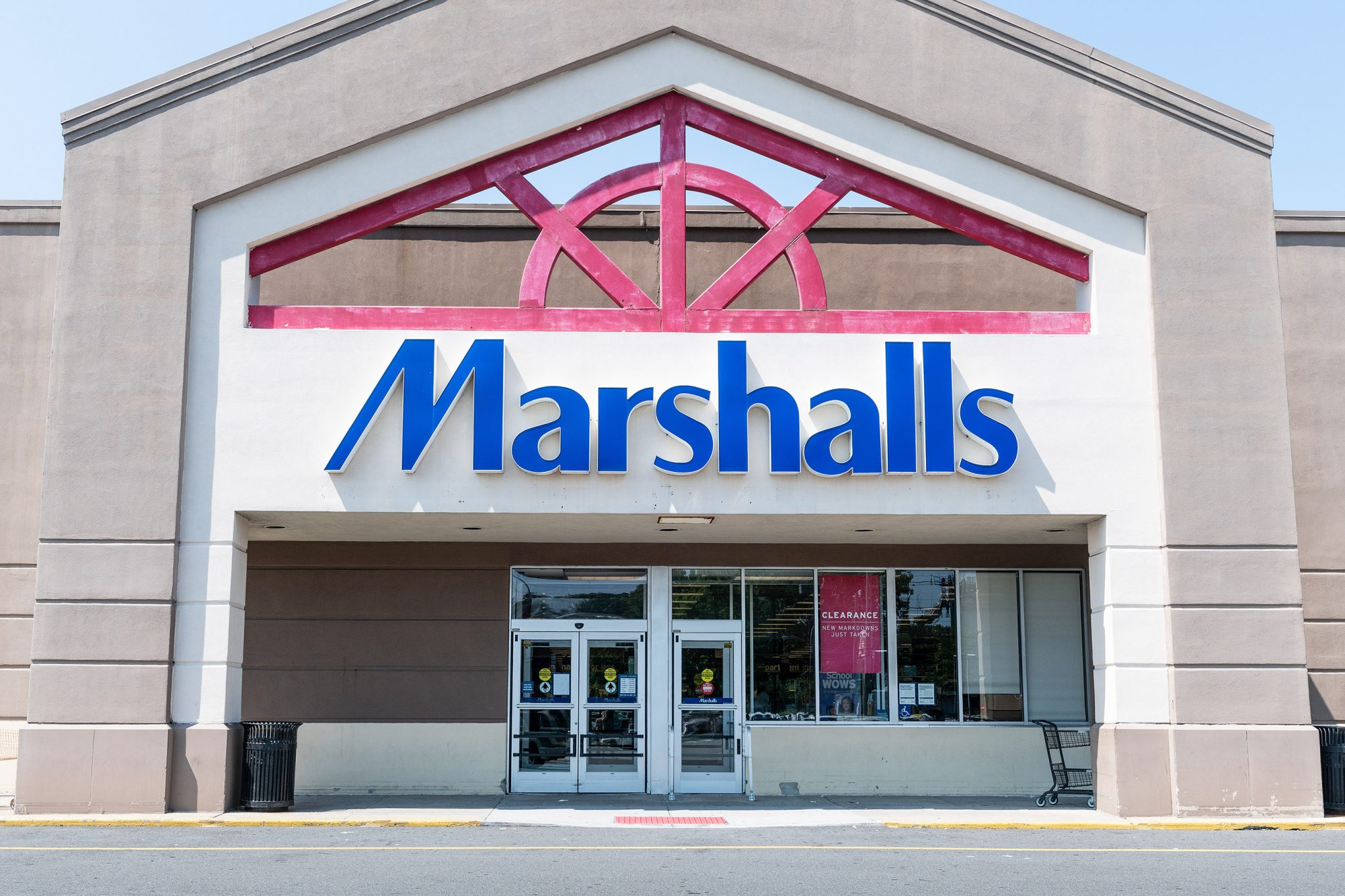 Marshalls store in Totowa, New Jersey