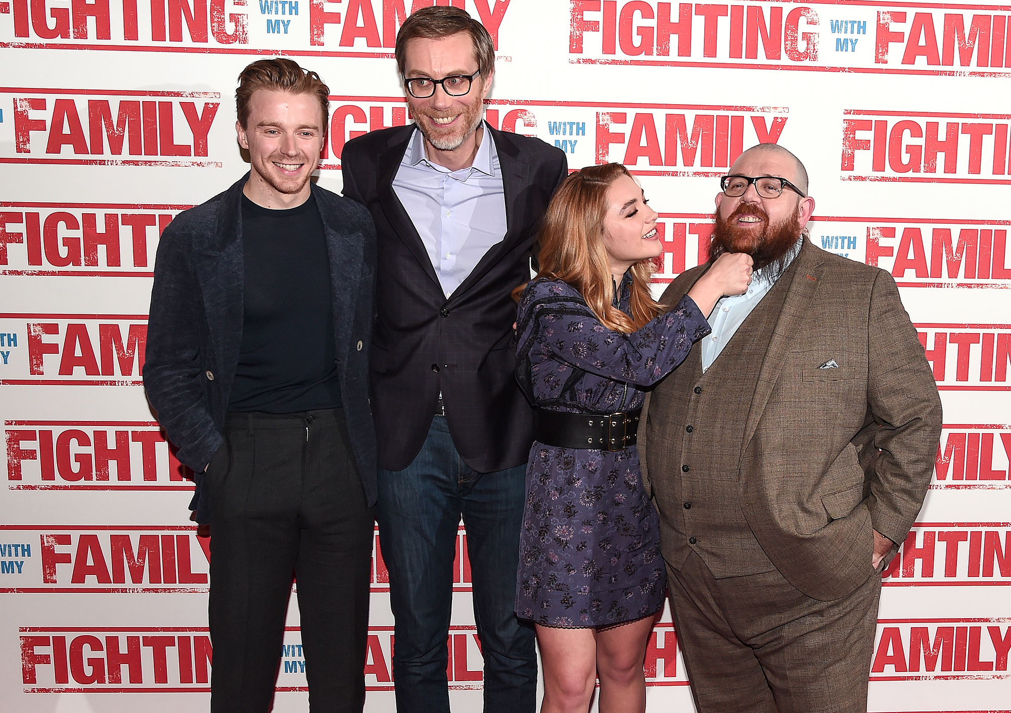 """""""Fighting With My Family"""" UK Premiere - VIP Arrivals"""