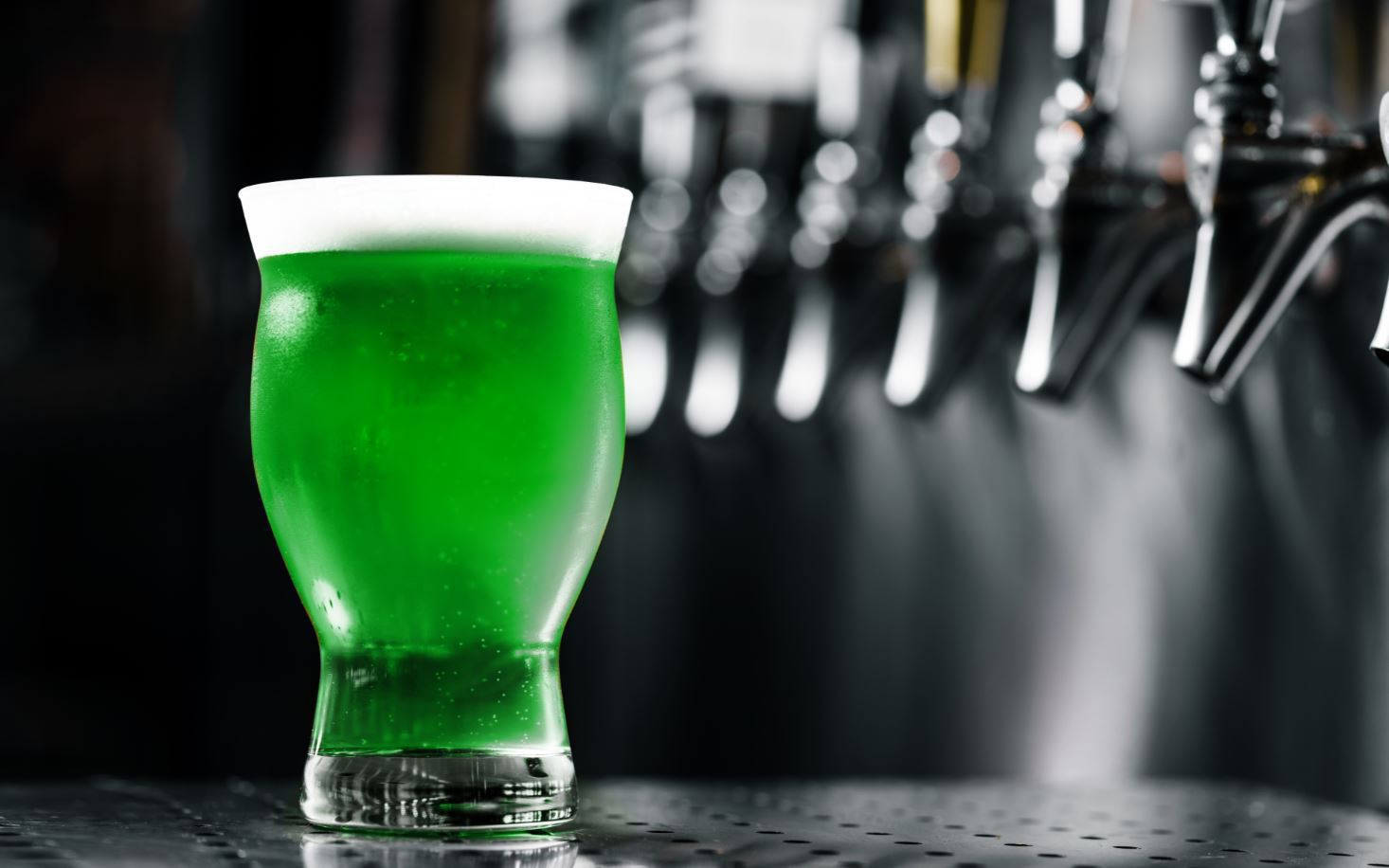Yardhouse Green Beer