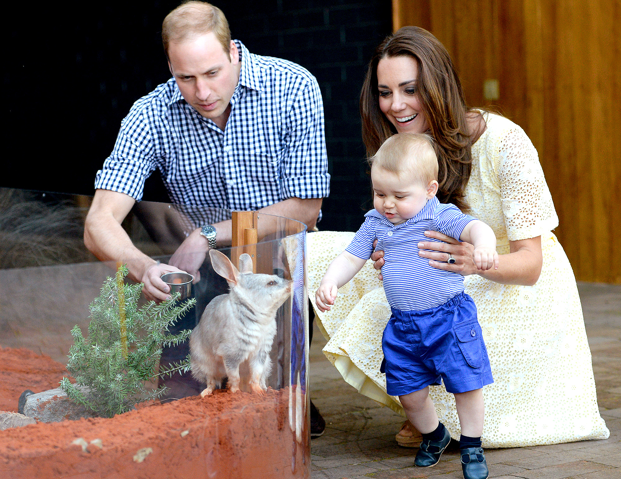 Prince William and Catherine Duchess of Cambridge visit Taronga Zoo, Sydney, Australia - 20 Apr 2014