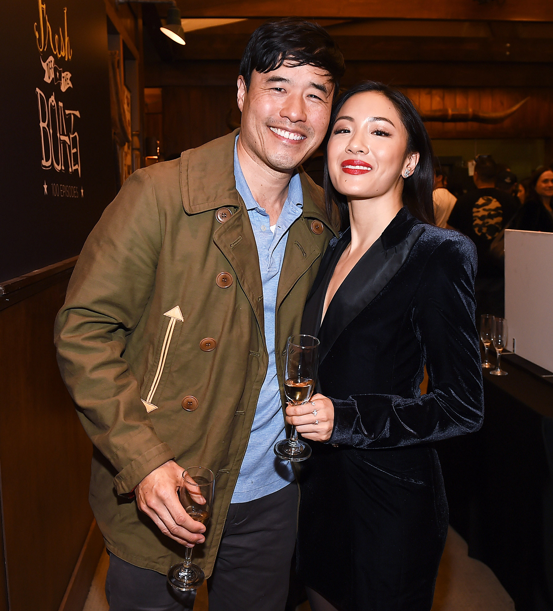 'Fresh Off the Boat' 100th Episode cake cutting, Los Angeles, USA - 27 Feb 2019