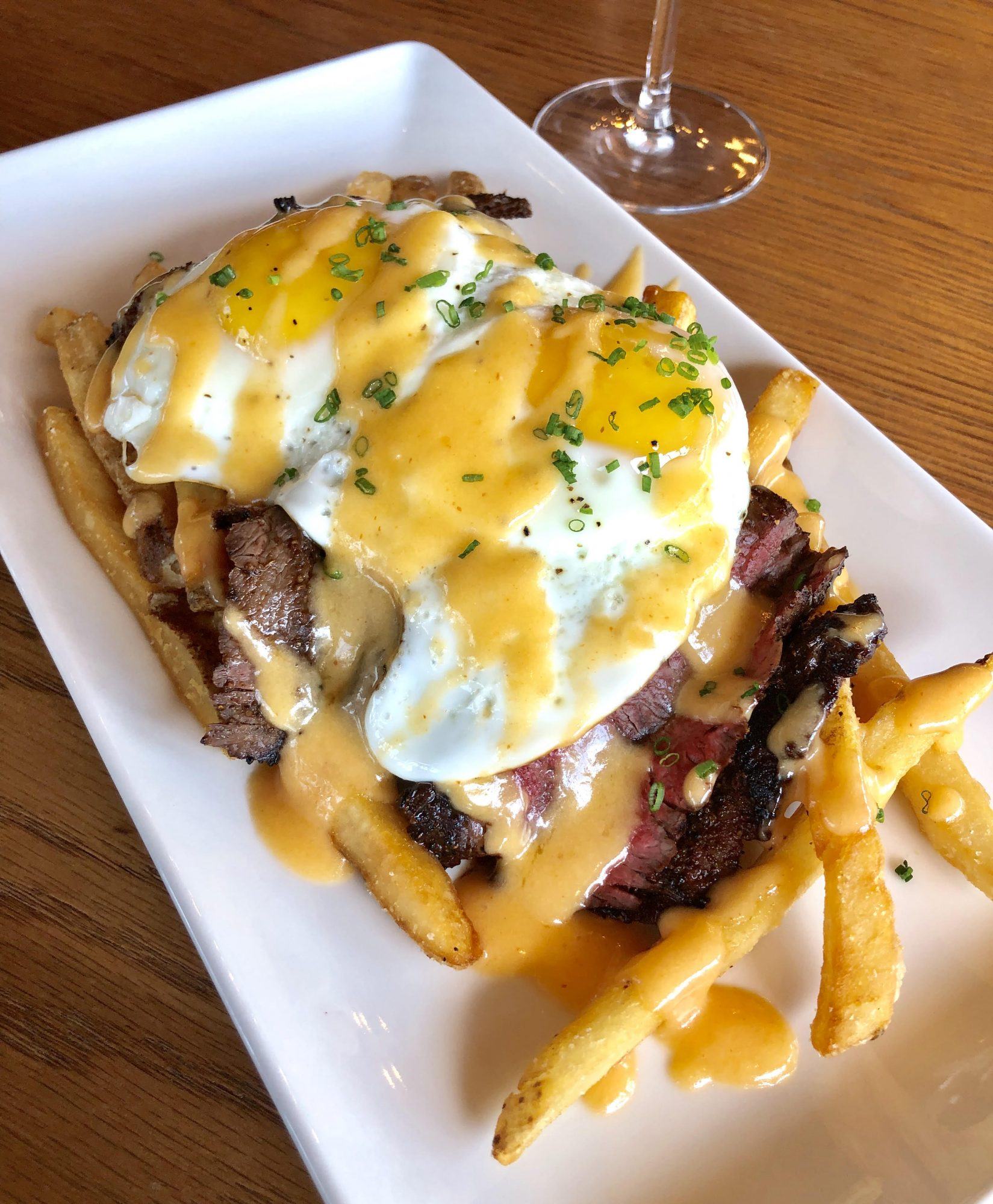 Steak and Eggs Frites