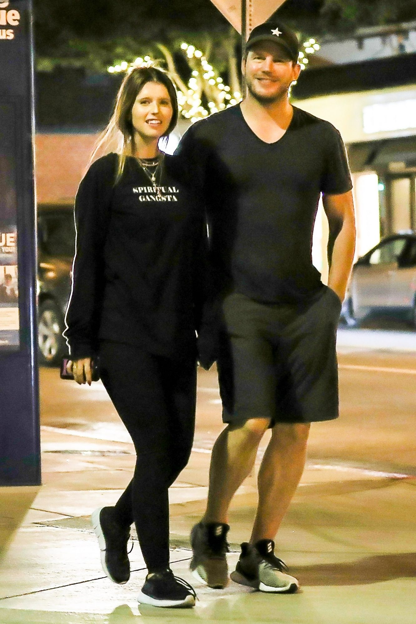Chris Pratt and Katherine Schwarzenegger are smitten after a date night at R+D Kitchen