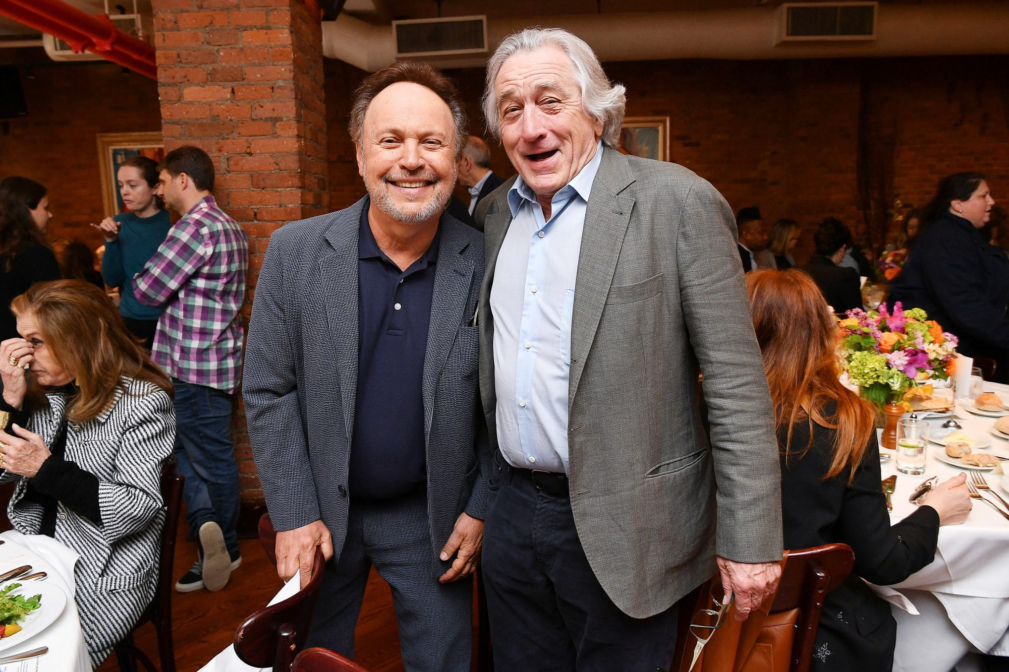 Billy Crystal and Robert De Niro