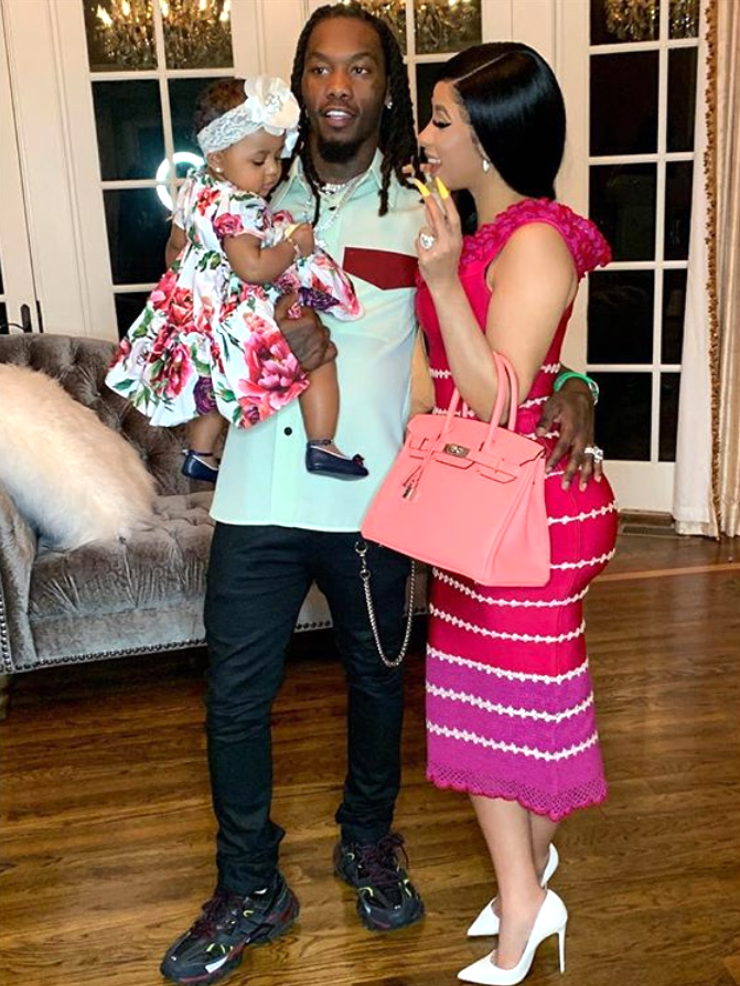 Cardi B And Offset Spend Easter With Daughter Kulture People Com