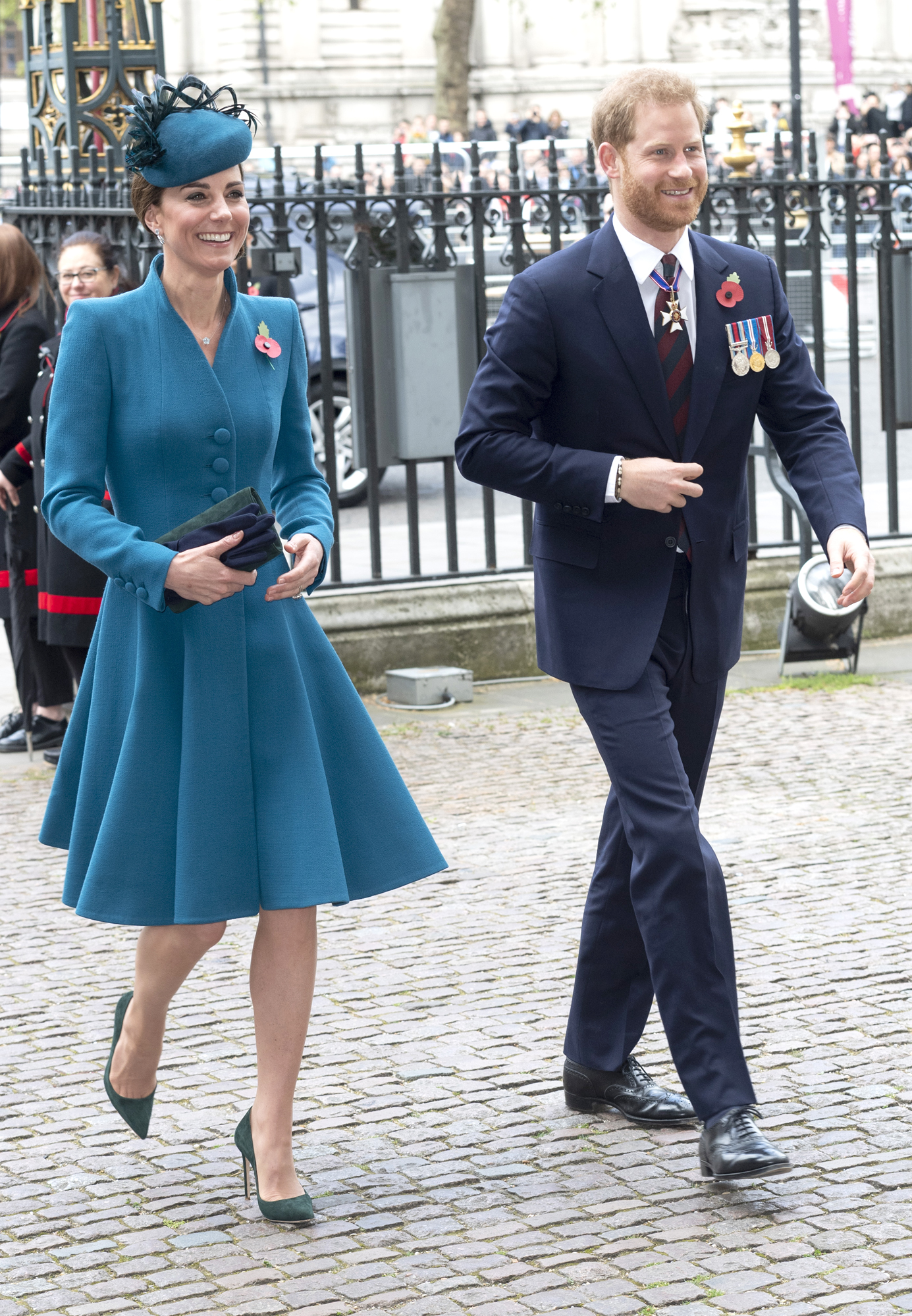 Duchess Of Cambridge Attends ANZAC Day Service