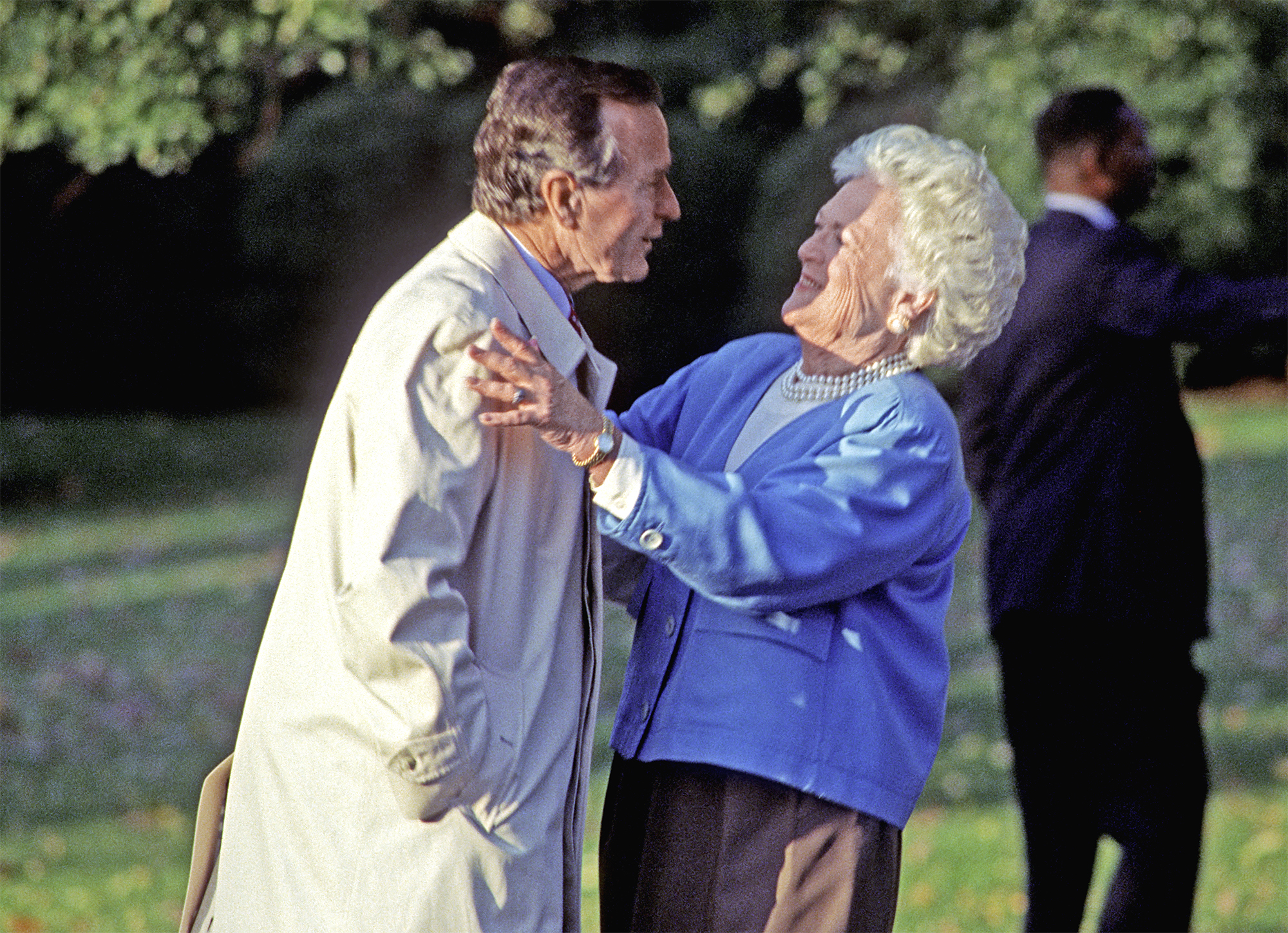 Former First Lady Barbara Bush is reported to be in ailing health
