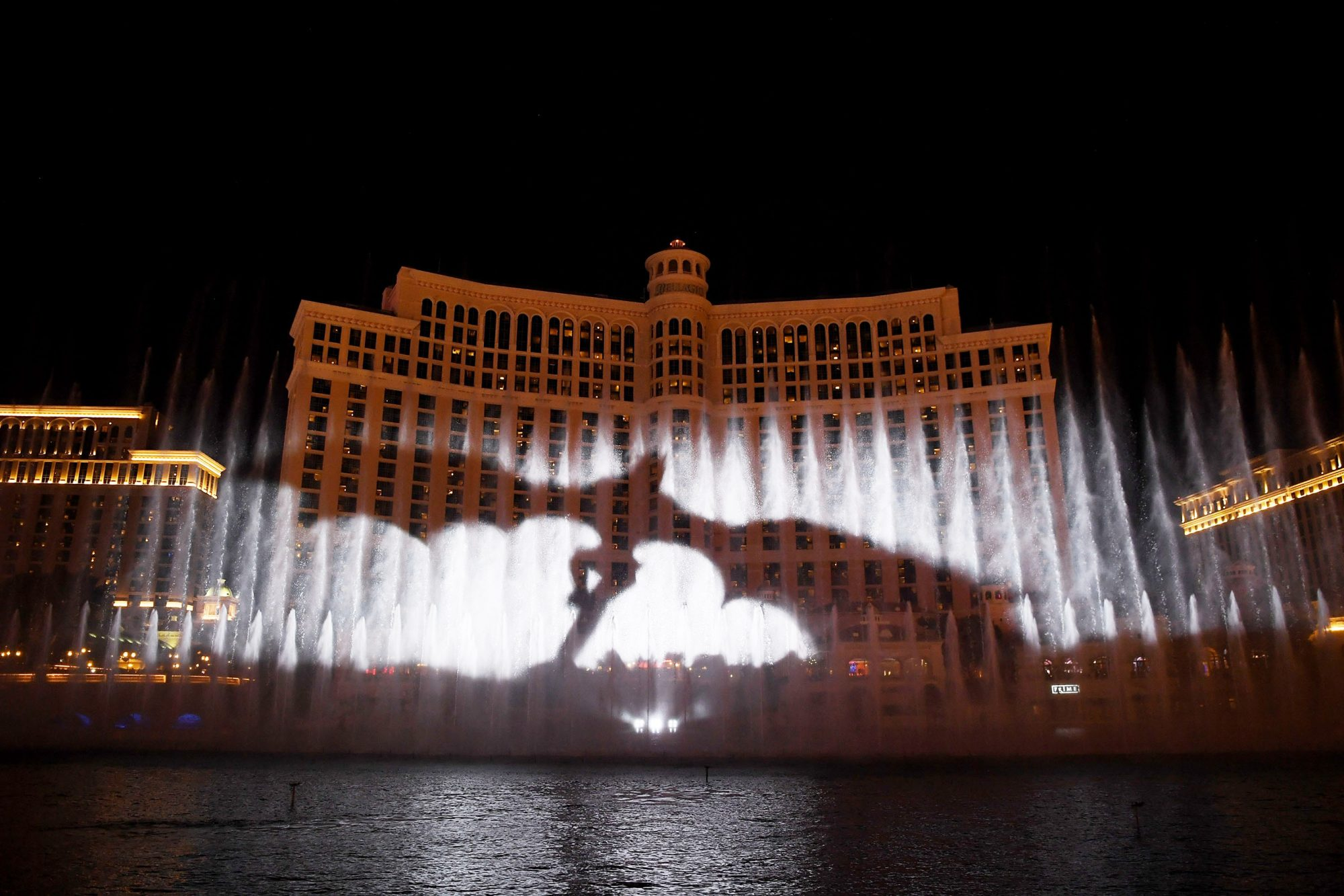 HBO, MGM Resorts And WET Design Debut Exclusive Game Of Thrones Production On The Fountains Of Bellagio Through April 13