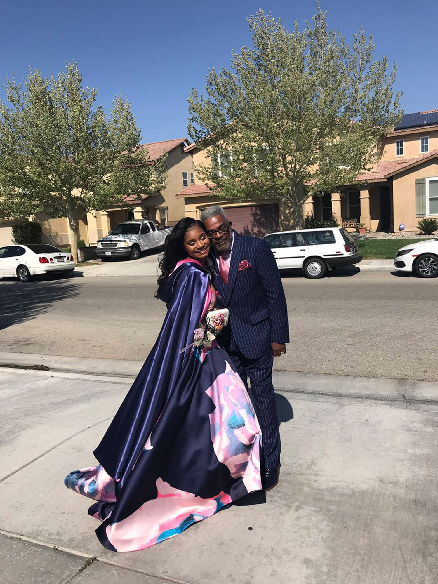 grandfather granddaughter prom pictures