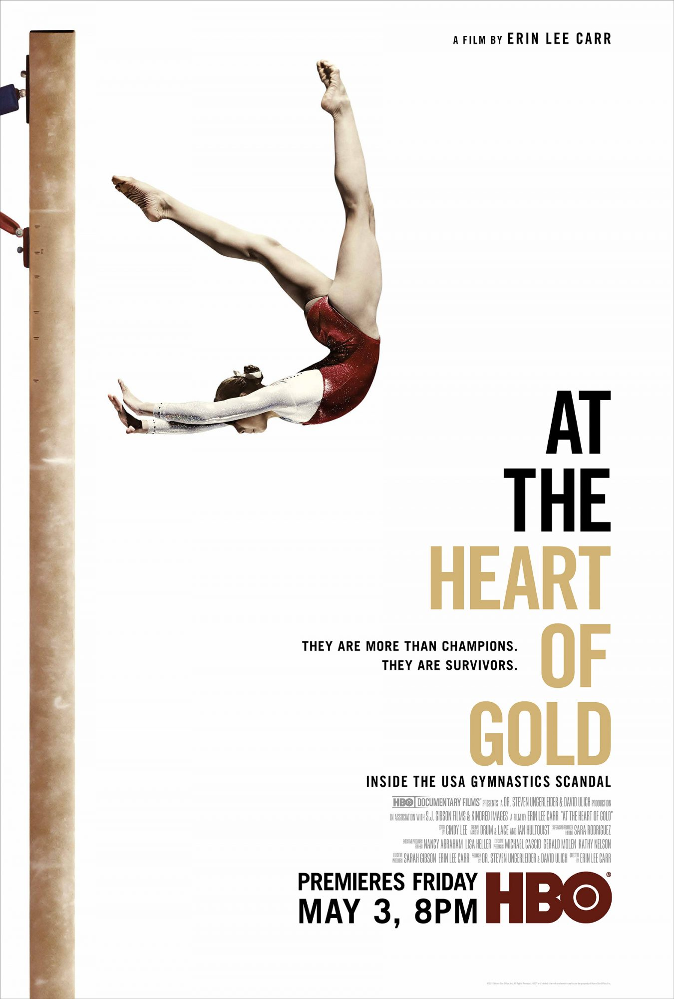 At the Heart of Gold: Inside the USA Gymnastics Scandal (2019)  Credit: HBO