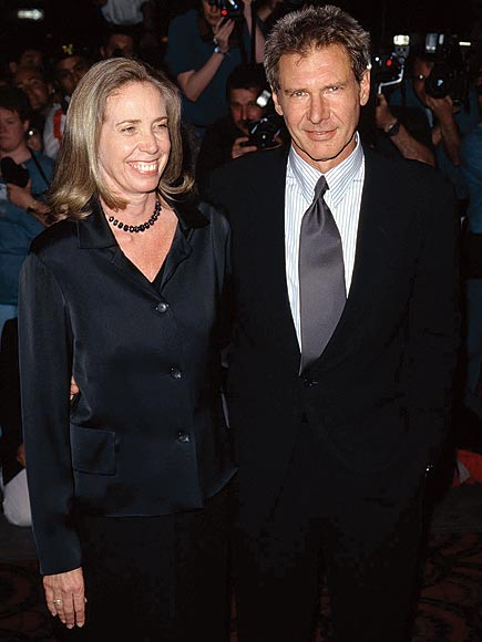Melissa Mathison & Harrison Ford