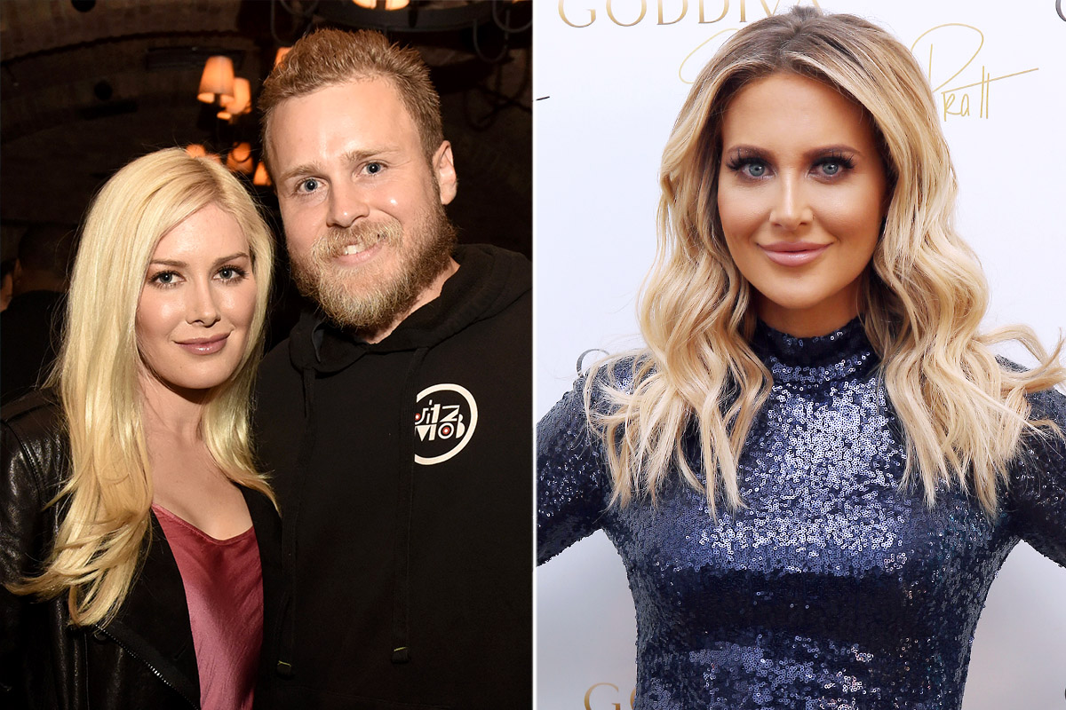 Heidi and Spencer Pratt and Stephanie Pratt split