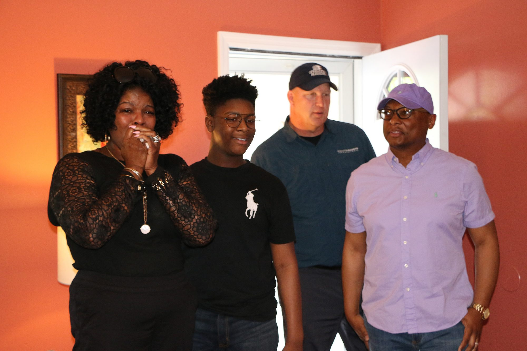 Home Depot Surprises Family with new home