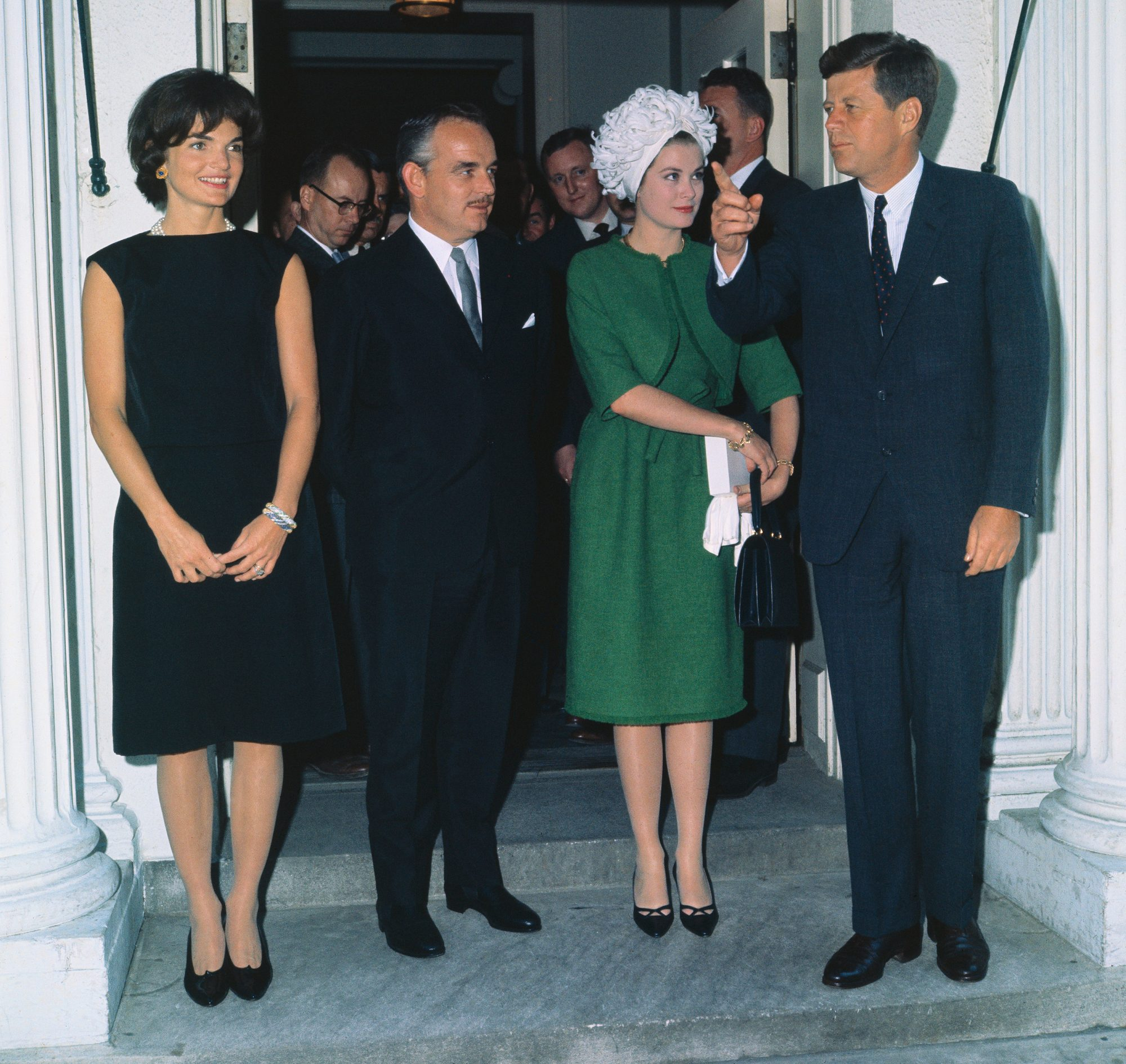 John F. Kennedy and Royalty
