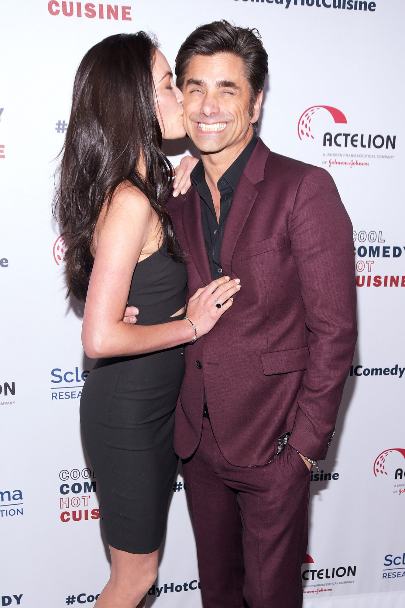 Caitlin McHugh and John Stamos