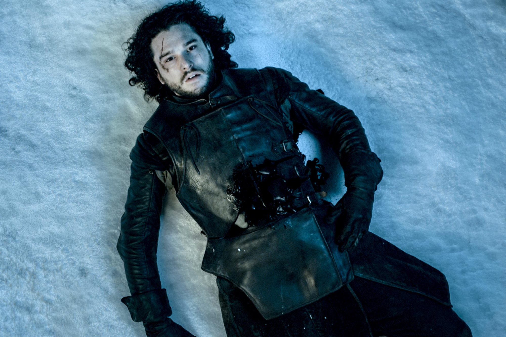 Game Of ThronesSeason 5 Episode 10 Season FinaleKit Harington as Jon Snow