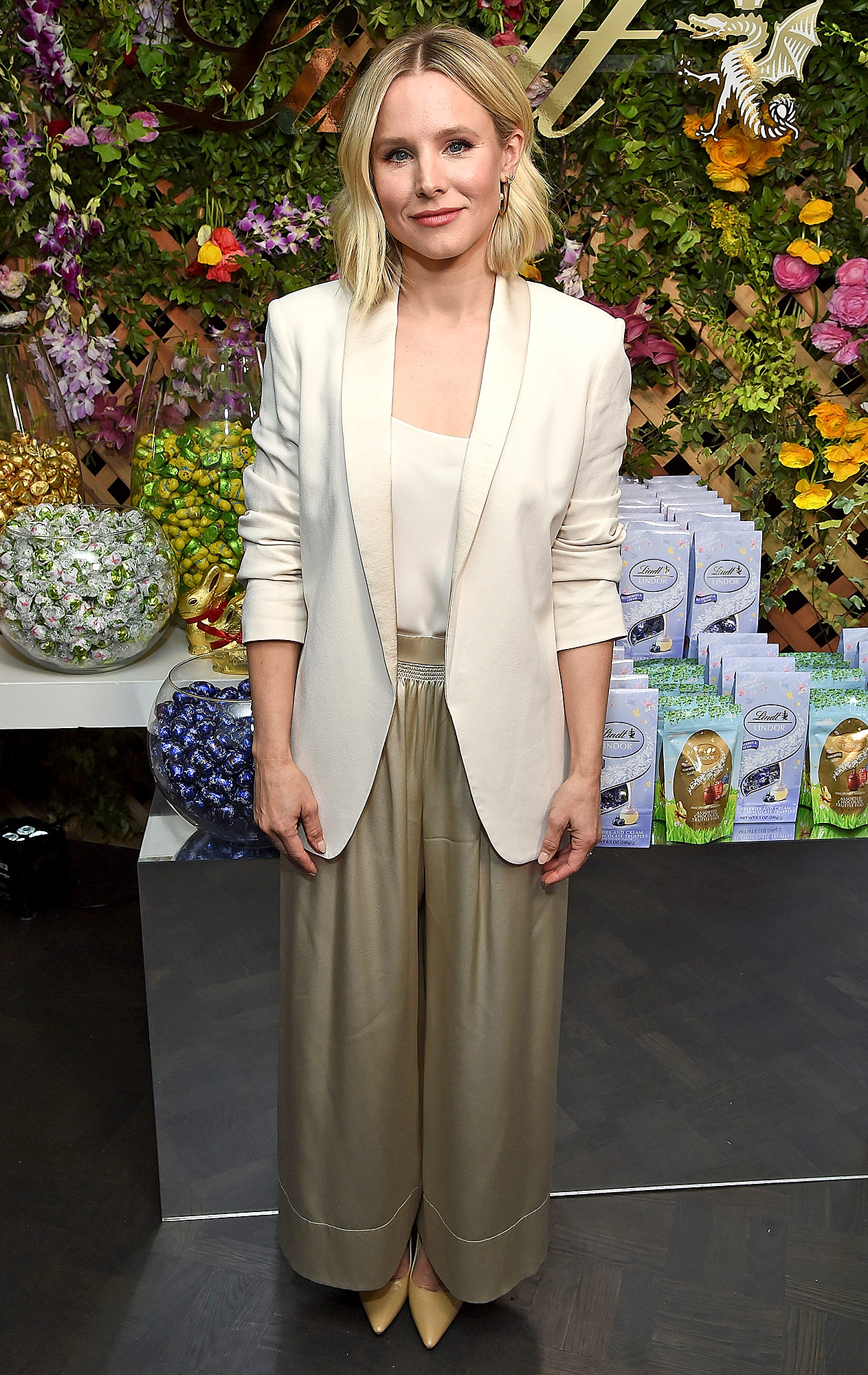 Lindt Chocolate Easter lunch with Kristen Bell and friends