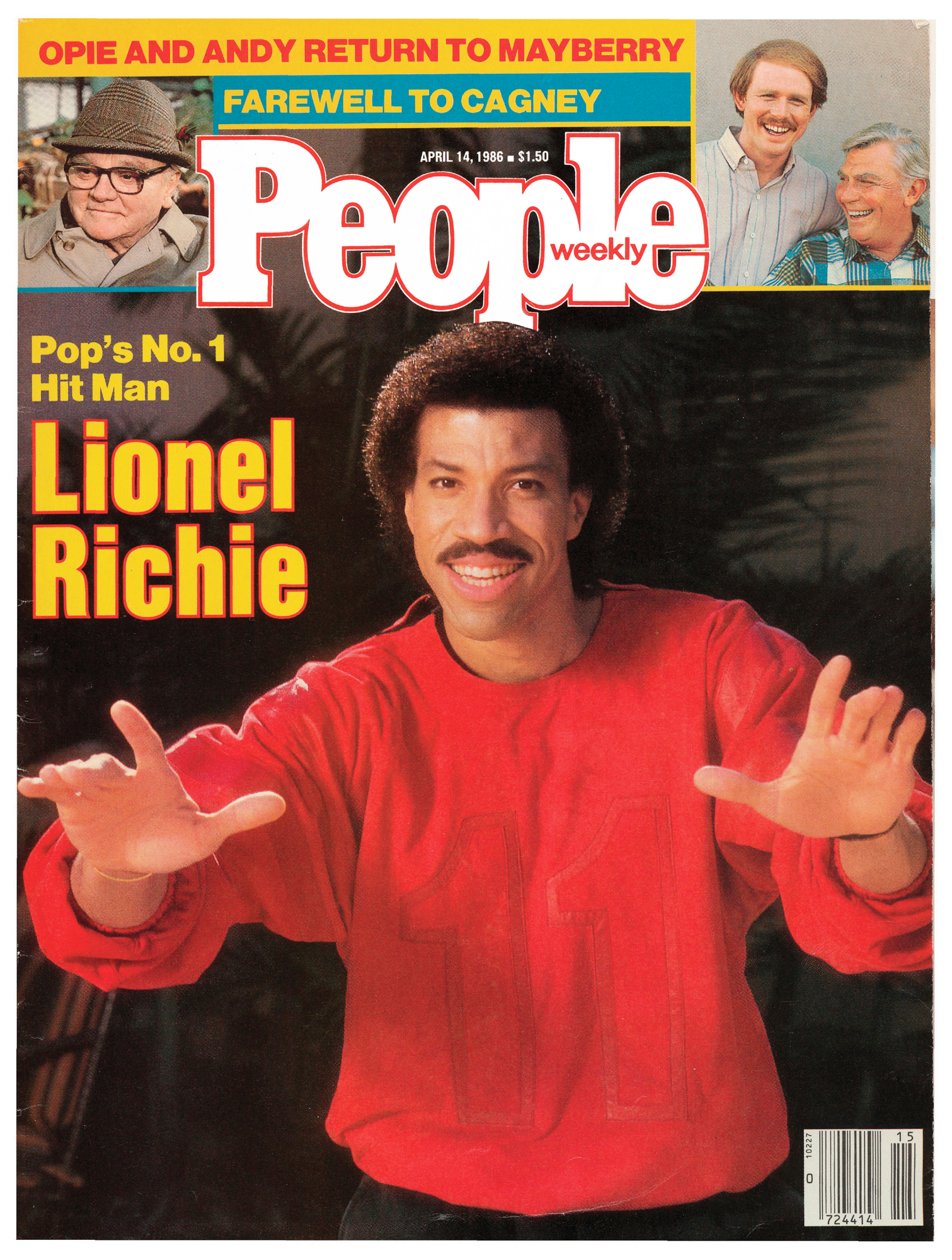 Lionel Richie 1986 people cover