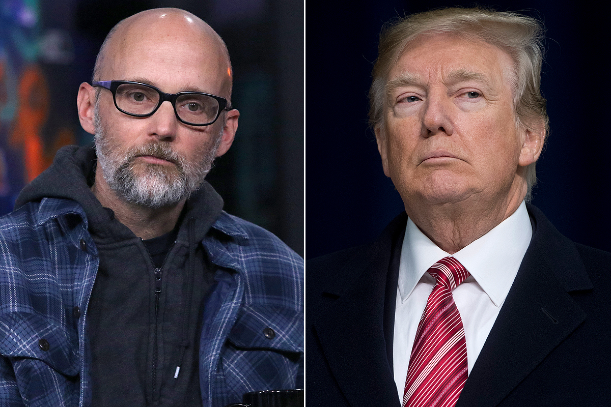 Moby, Donald Trump