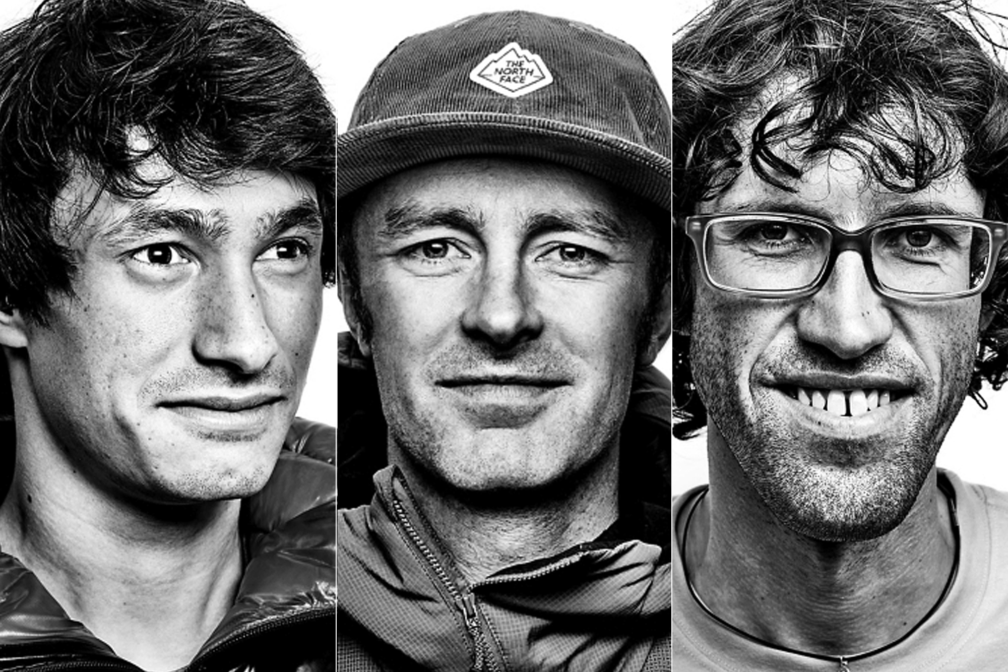 Jess Roskelley, David Lama and Hansjorg Auer