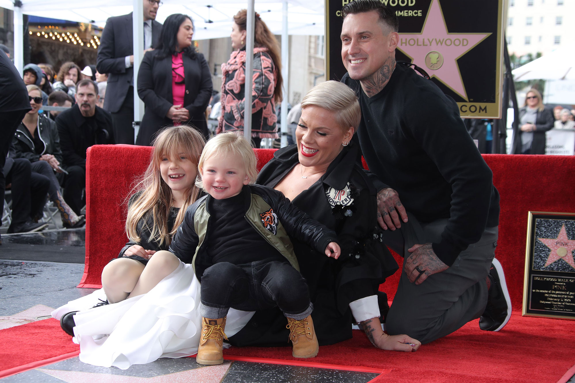 Pink honored with a star on the Hollywood Walk of Fame, Los Angeles, USA - 05 Feb 2019