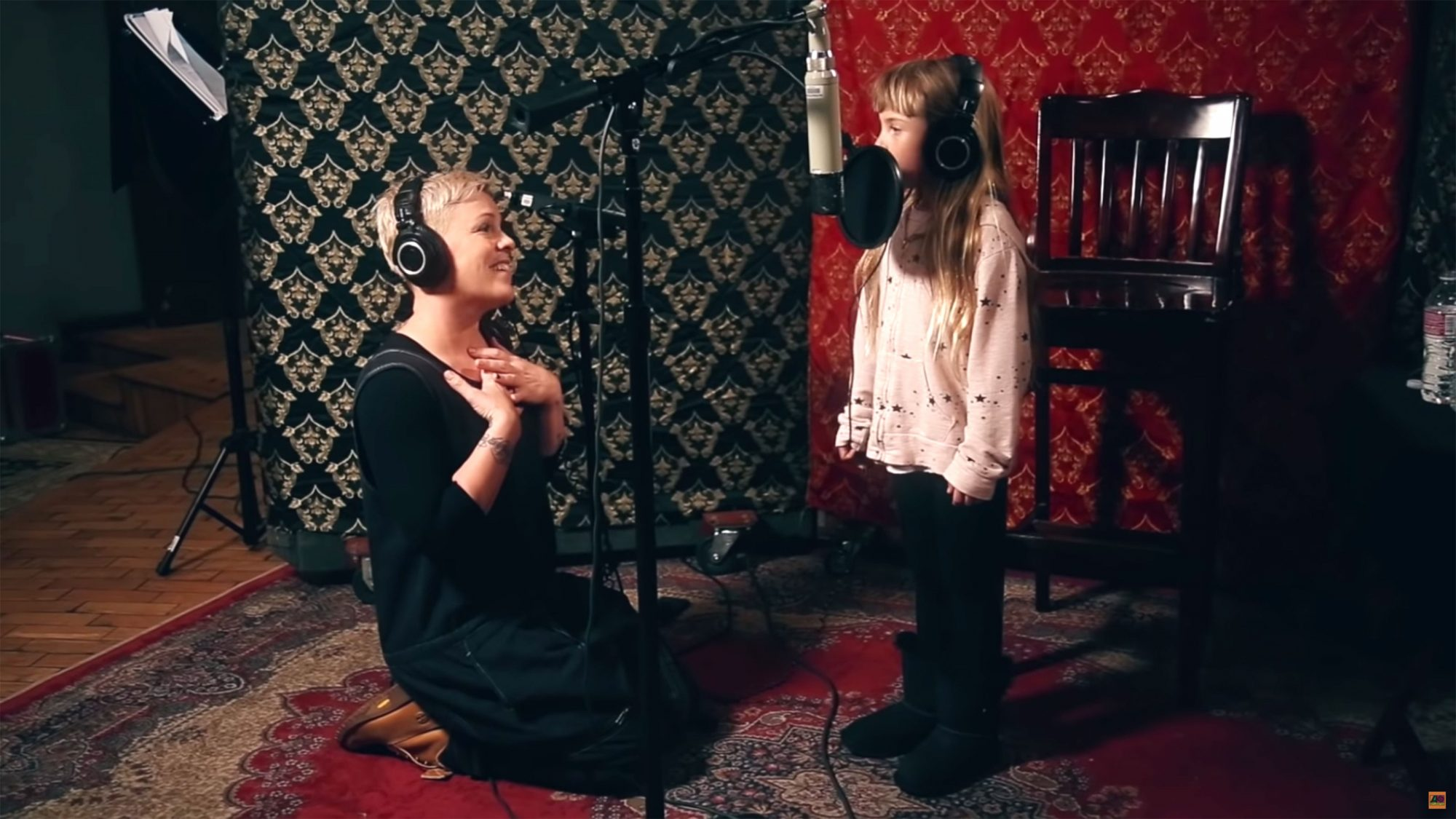 She Sang with Her Daughter
