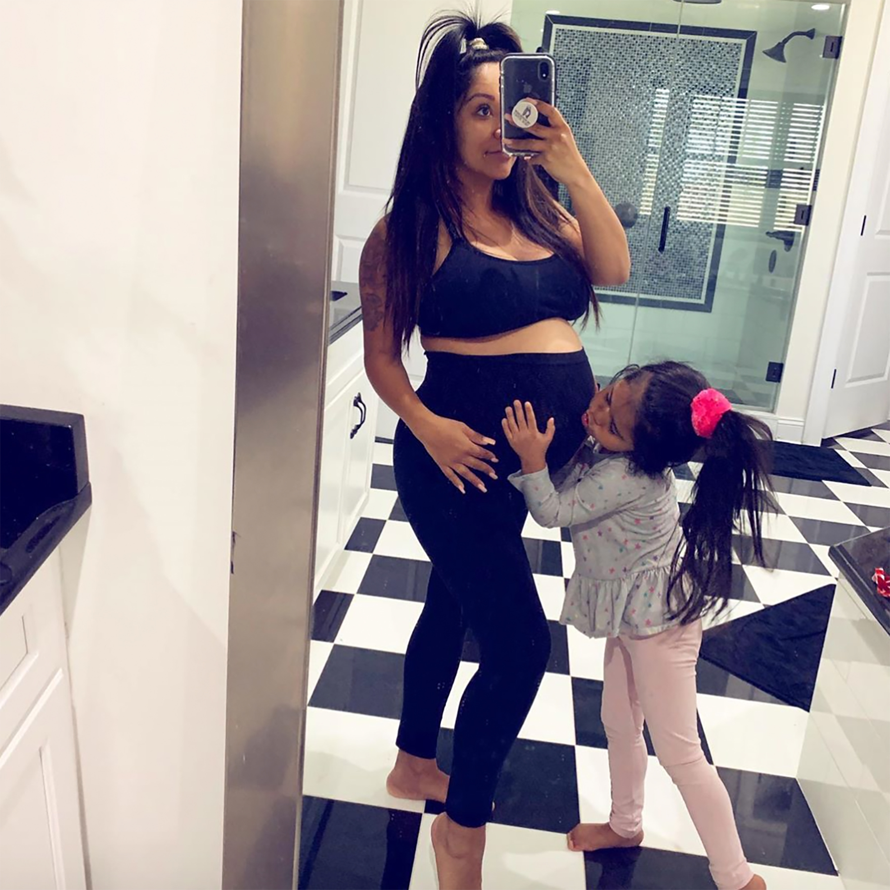 Snooki pregnant with Baby Angelo