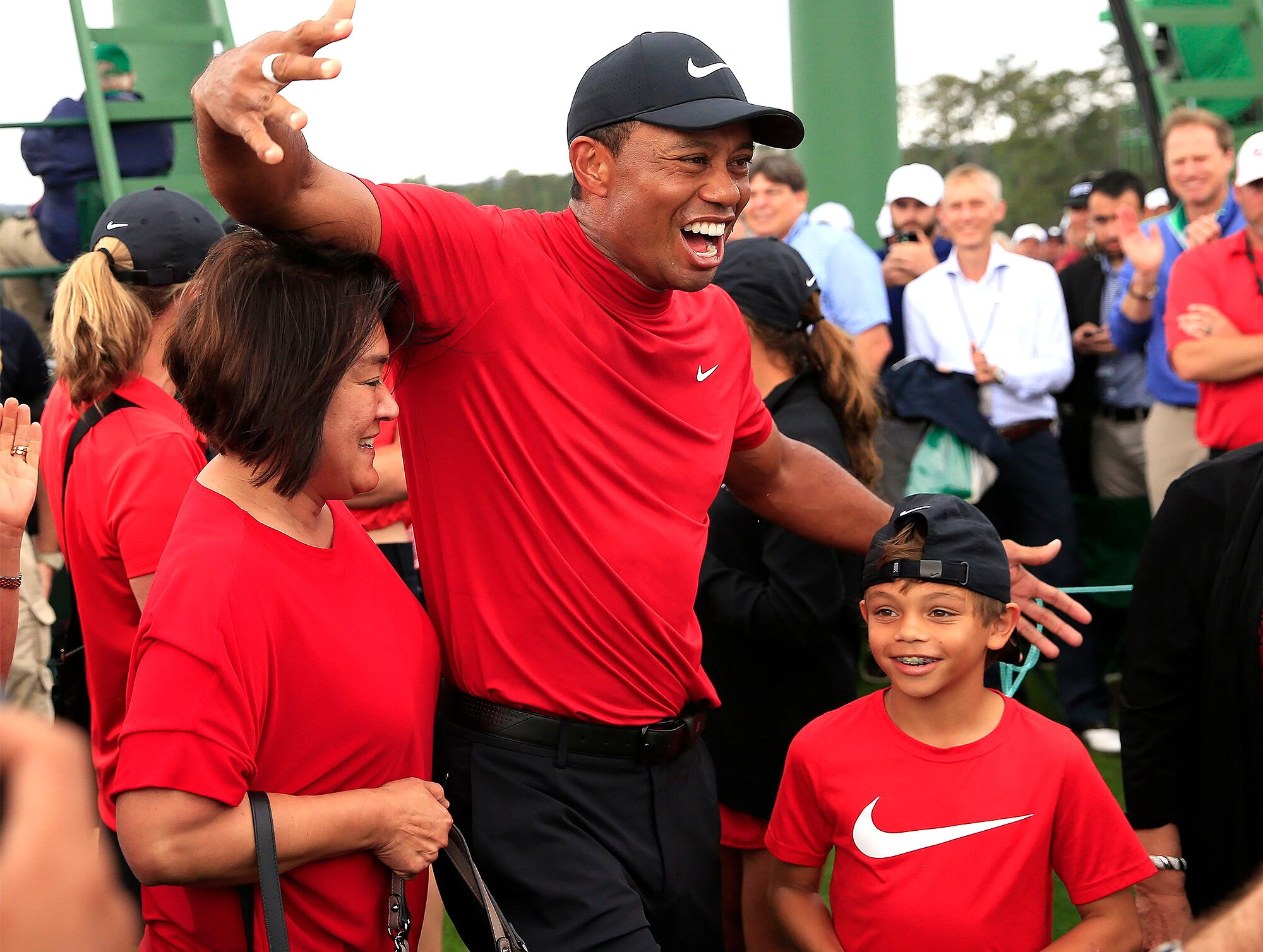 Tiger Woods Says 'Love and Support' of His Kids 'Means the World ...