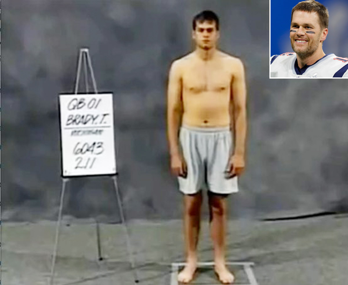 Tom Brady Draft Photo